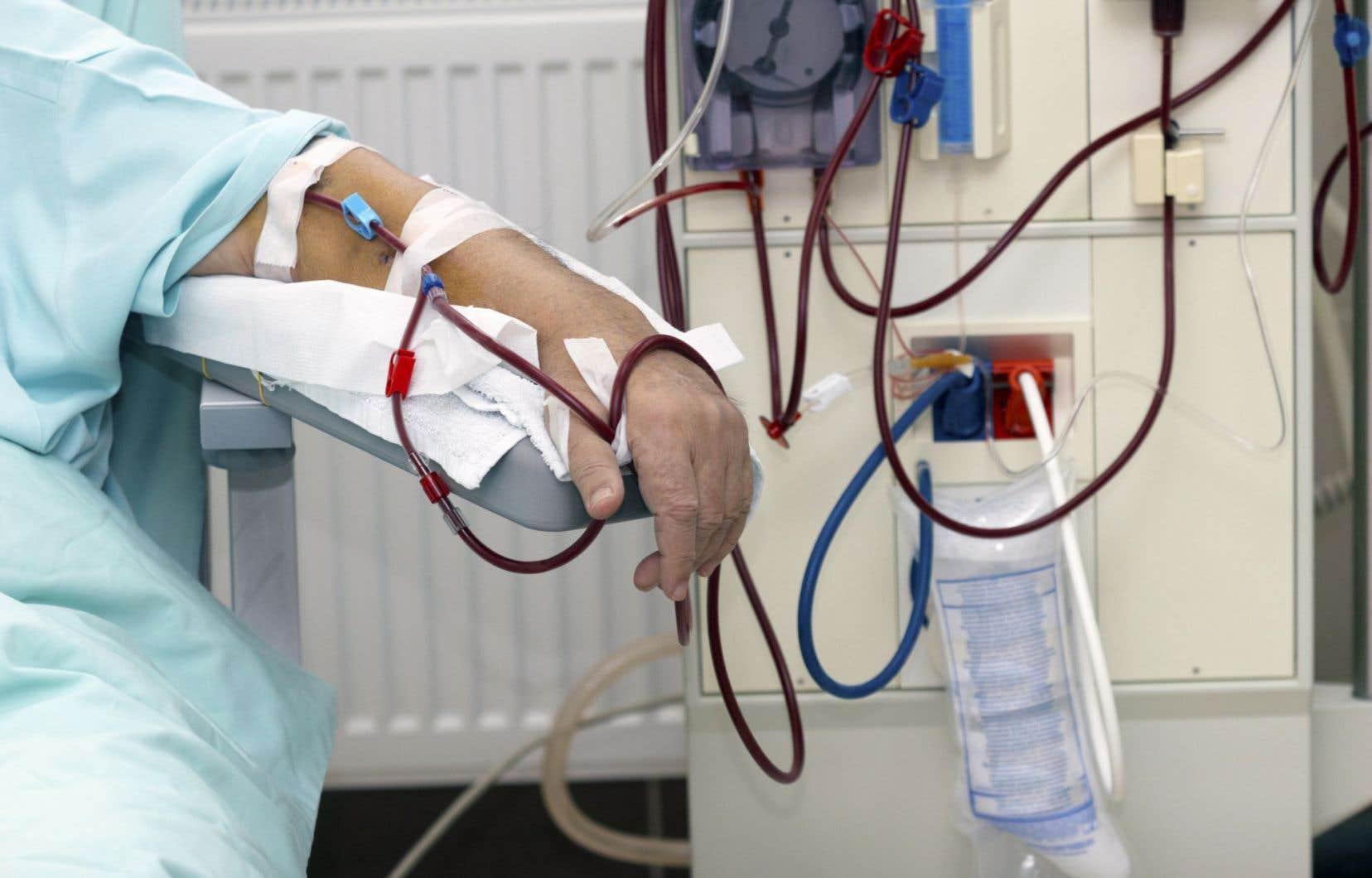 En Gaspésie, un seul patient a droit à l'hémodialyse à domicile.