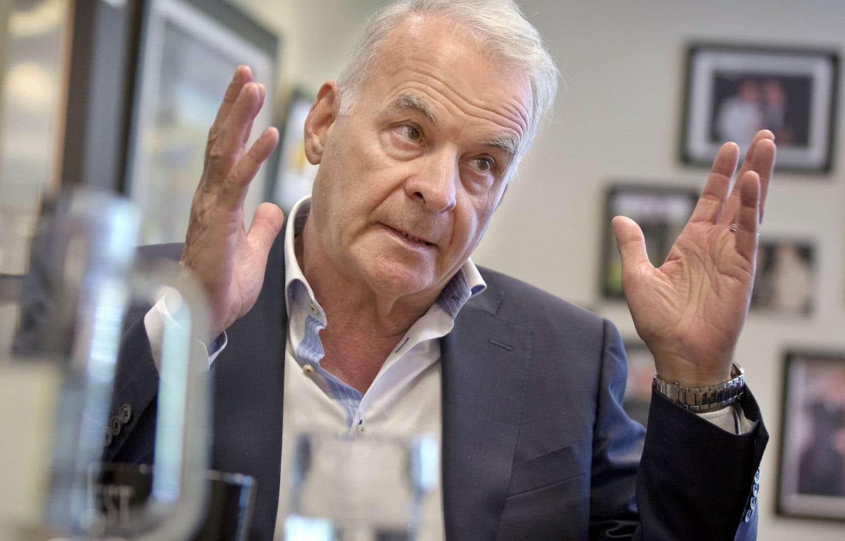 Le fondateur de Couche-Tard, Alain Bouchard