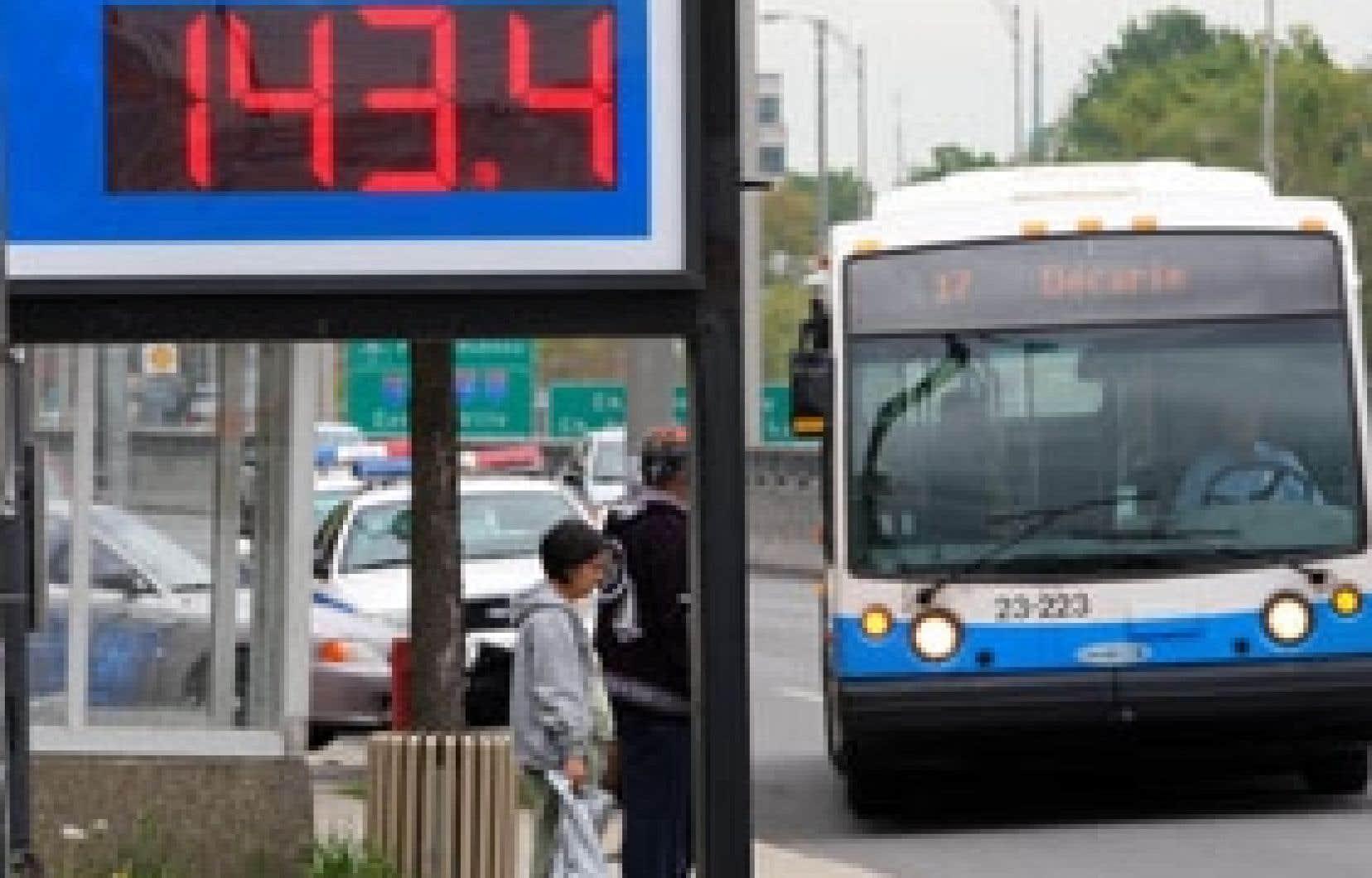 C'est dans la semaine du 9 juin que le litre d'essence a touché son sommet en 2008, à 1,46 $ en moyenne au Québec.