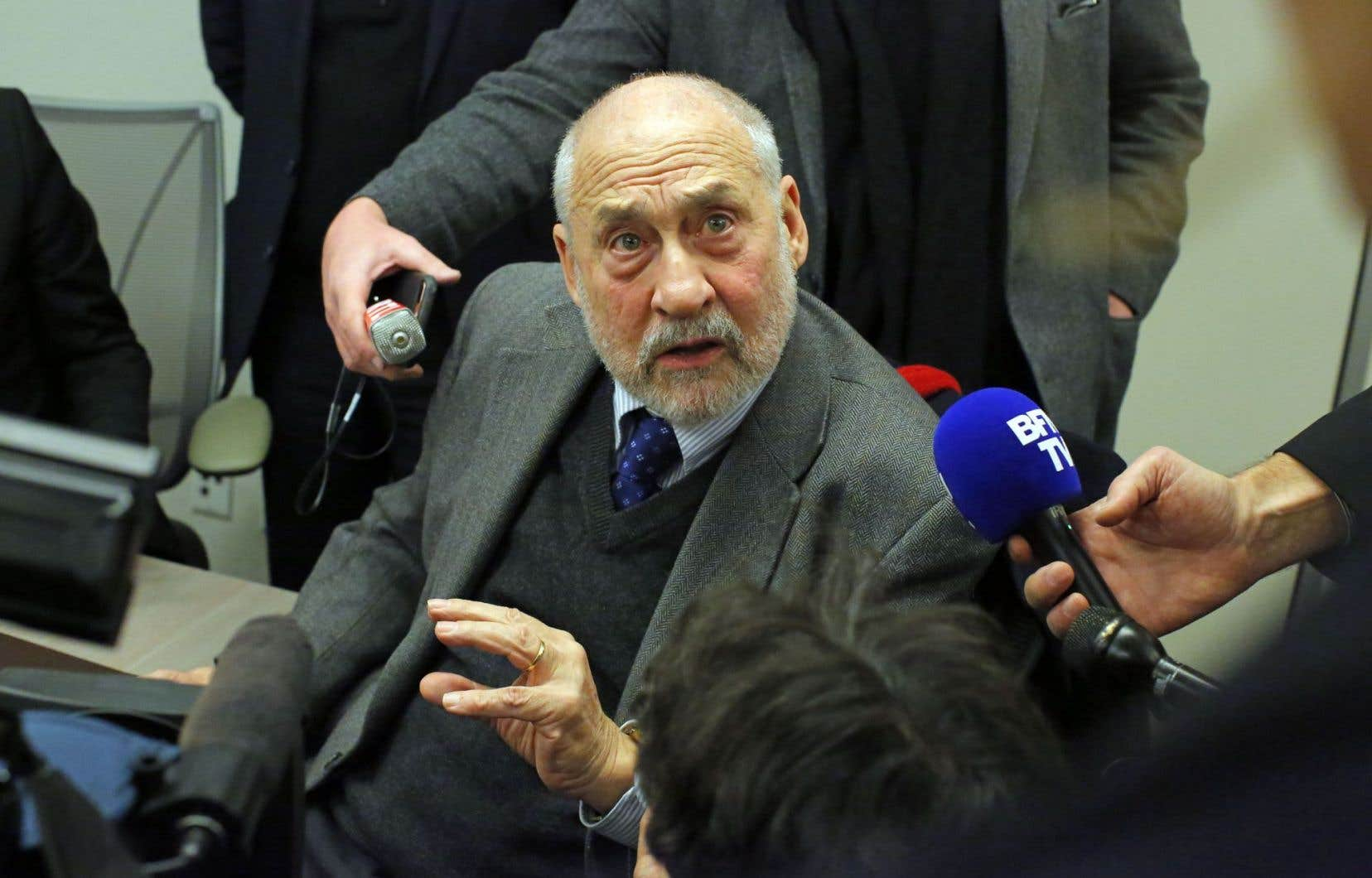 L'économiste Joseph Stiglitz