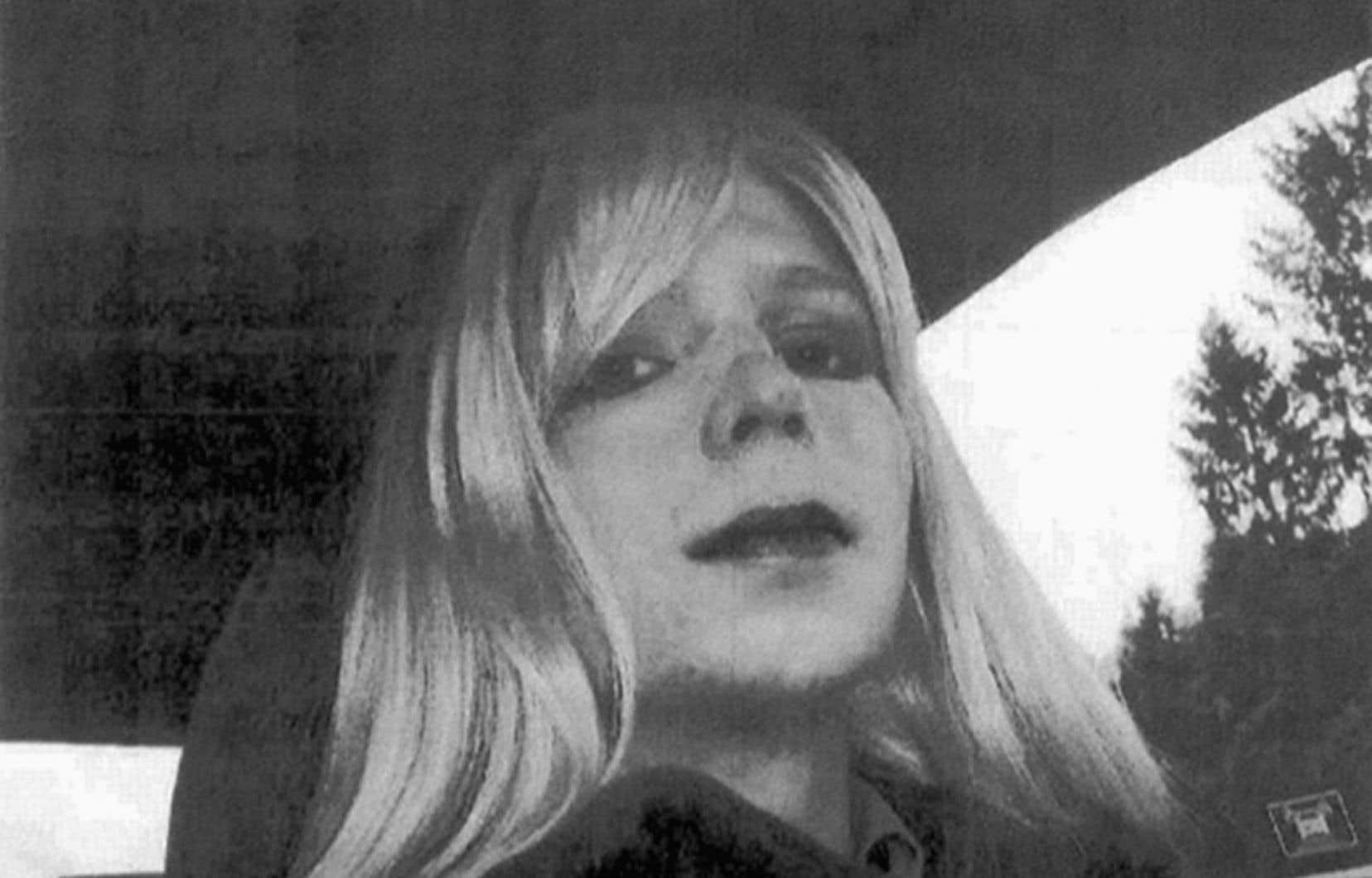 La militaire transsexuelle Chelsea Manning, qui s'appelait auparavant Bradley Manning, avait été condamnée en août2013 à 35ans de prison.