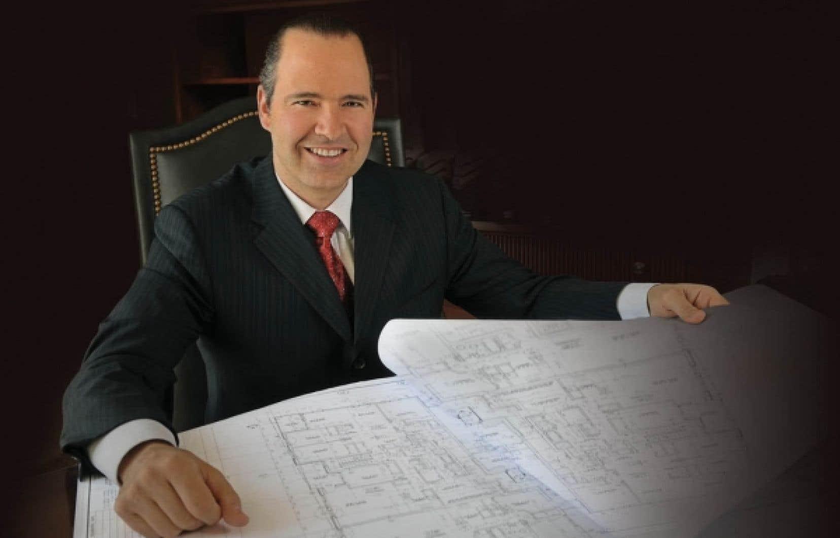 Sam Scalia, président et fondateur de Samcon