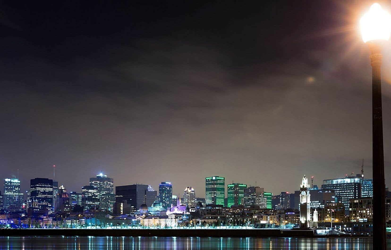 La ville de Montréal compte 132 000 lampadaires.
