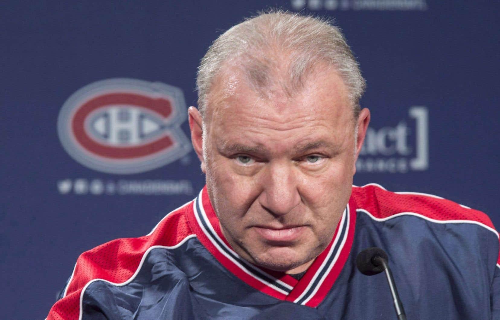 L'entraîneur-chef du Canadien de Montréal, Michel Therrien