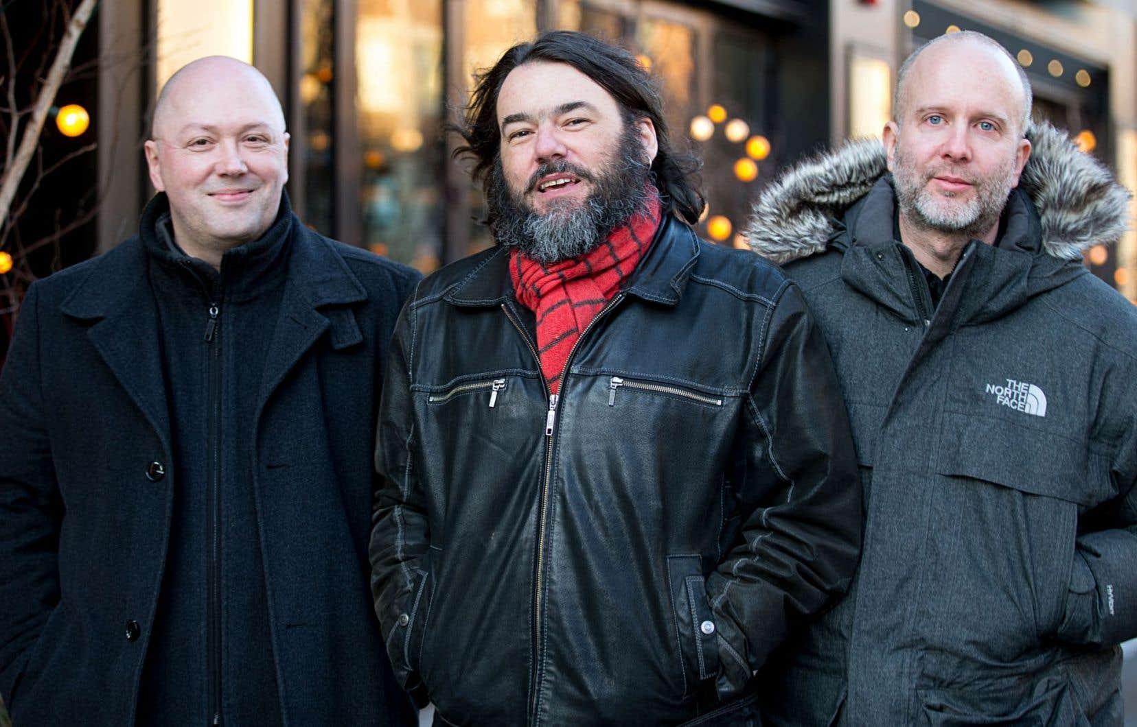 Sébastien Dufour, Glenn Lévesque et Marc Morin forment un trio depuis maintenant dix-huit ans.