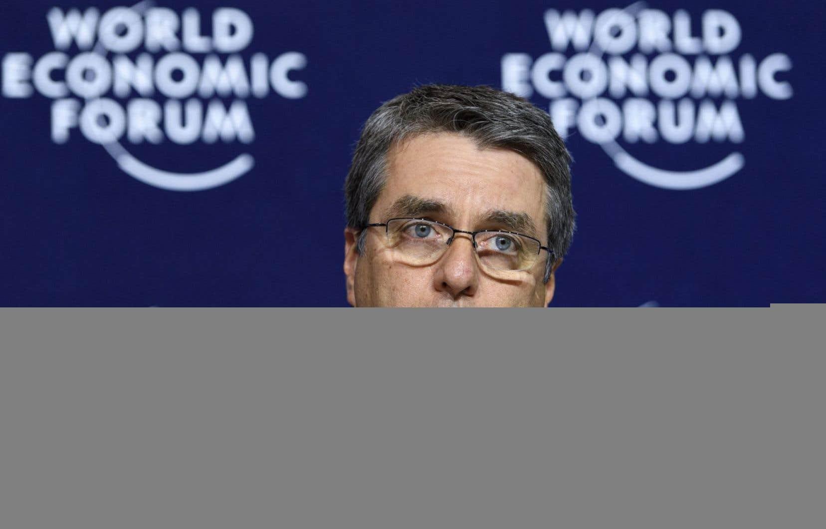Le directeur général de l'Organisation mondiale du commerce, Roberto Azevedo