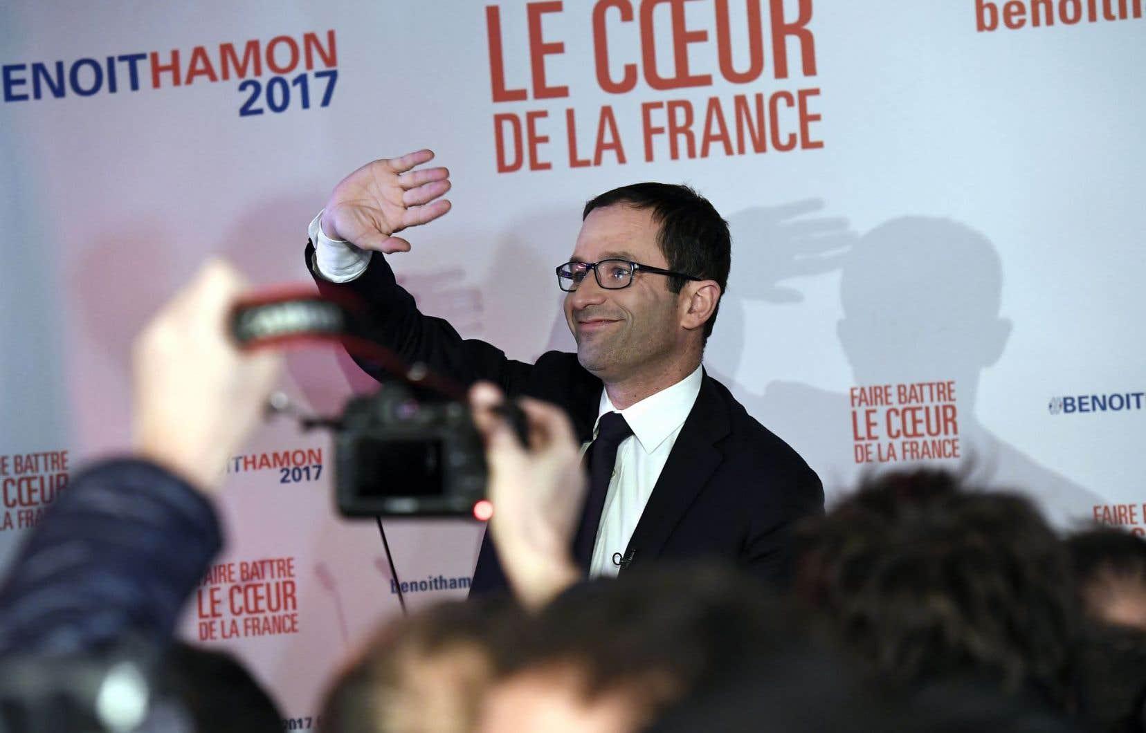 Gagnant de la primaire, Benoît Hamon est considéré comme le représentant de la gauche radicale du Parti socialiste.