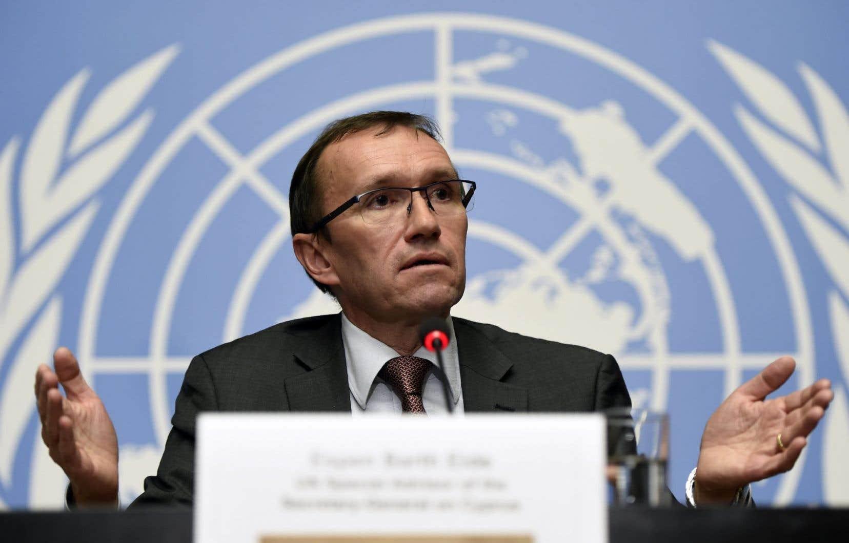 Les ambassadeurs des quinze pays du Conseil ont été mis au courant de l'état des négociations par l'envoyé spécial de l'ONU Espen Barth Eide.