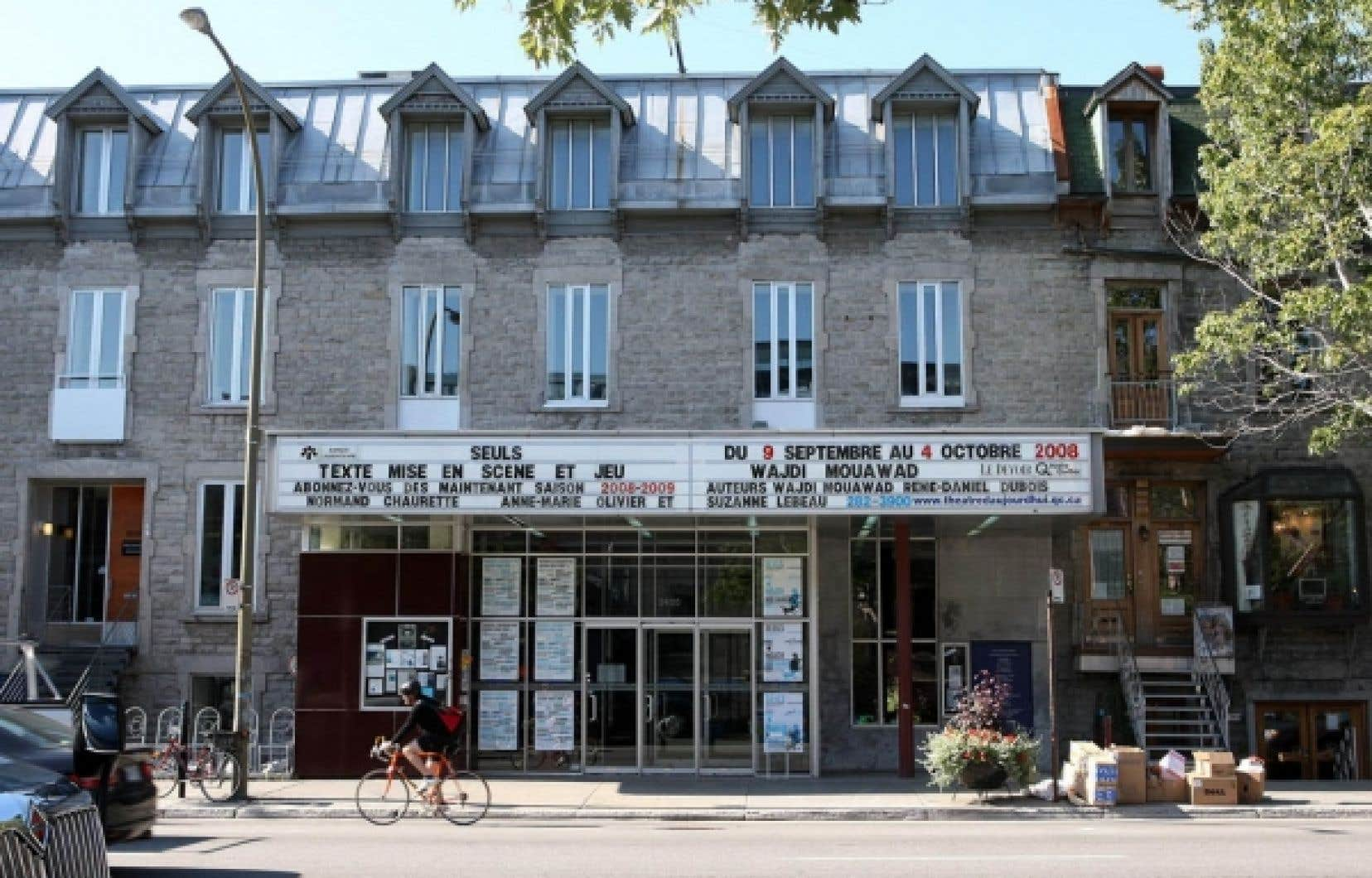 Le théâtre de la rue Saint-Denis fera peau neuve pour sa nouvelle saison, qui sera quelque peu retardée en raison de travaux  de rénovation.