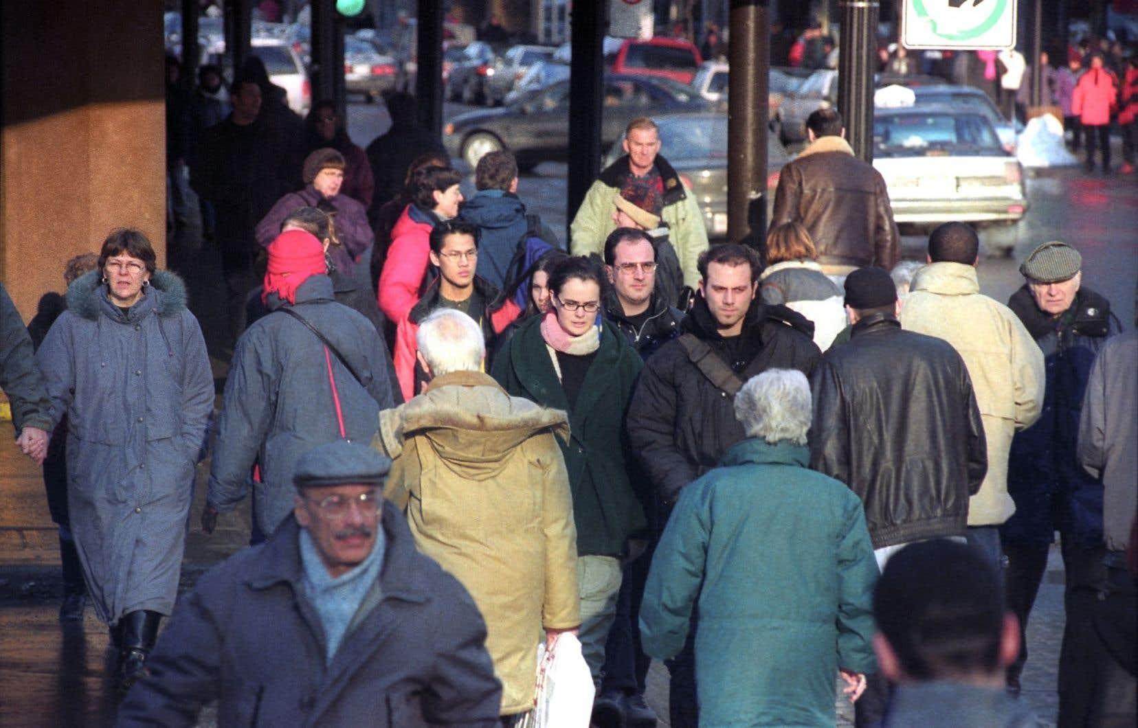 En 2011, 48% de la population de l'île de Montréal avait le français comme langue maternelle.