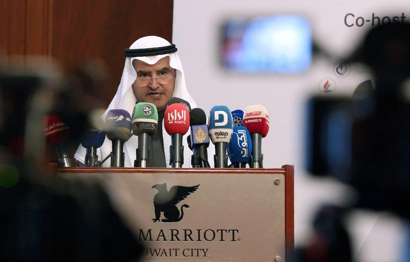 Essam al-Marzouk, le ministre koweïtien du Pétrole