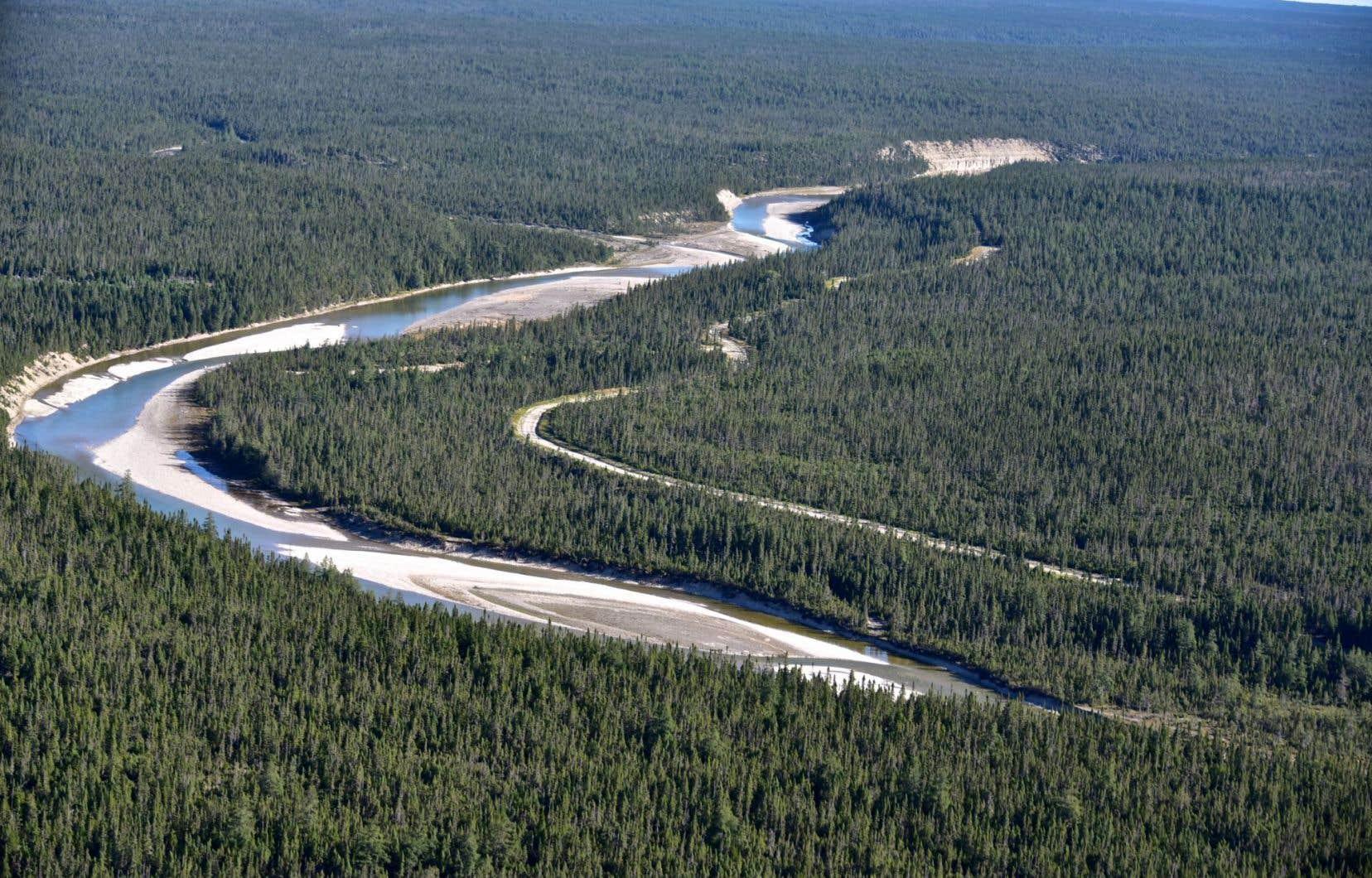 La rivière Jupiter, sur Anticosti.S'il se concrétise, l'engagement de Québec signifiera la mort des projets d'exploration pétrolière sur l'île.