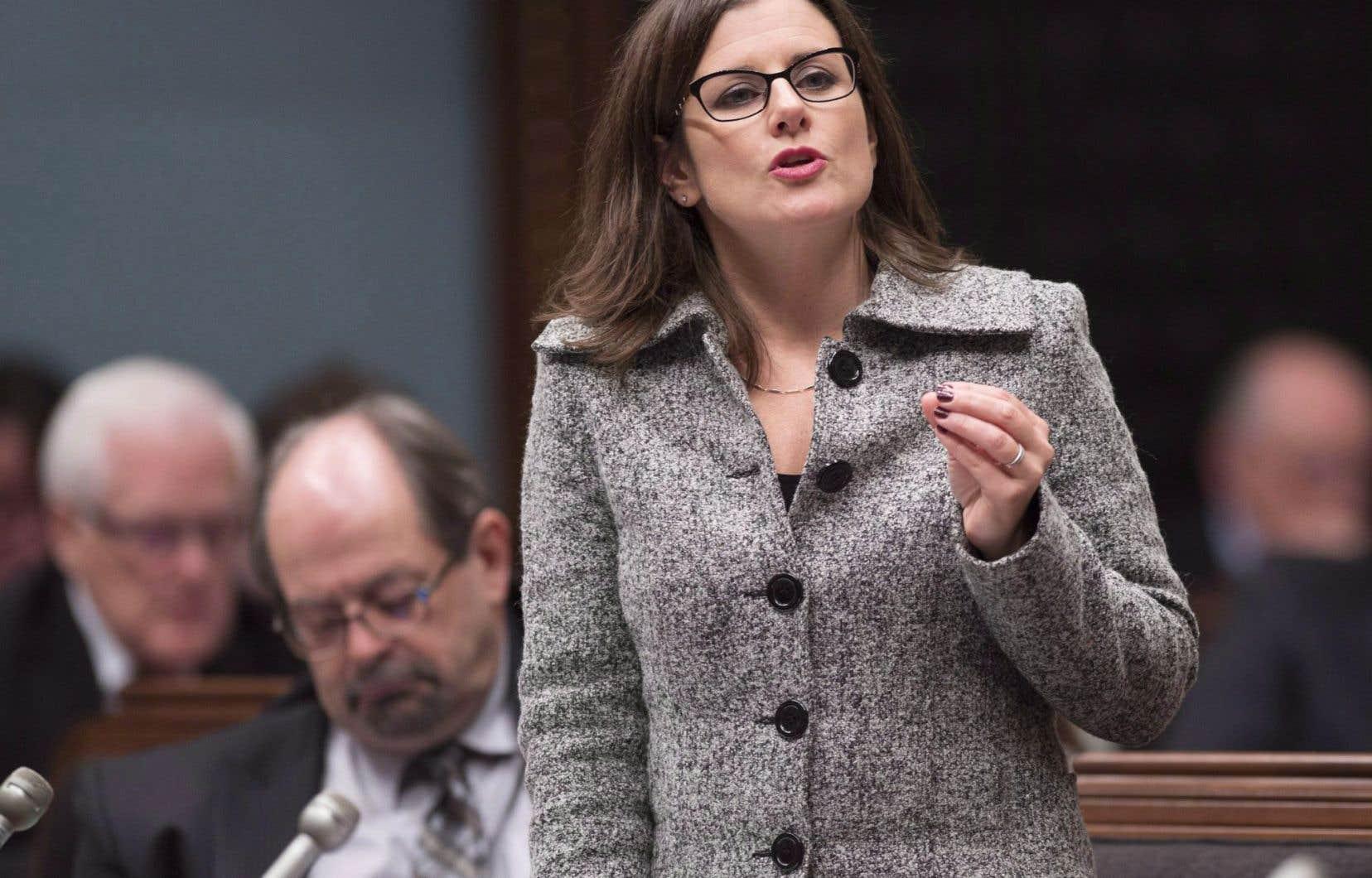 La ministre Stéphanie Vallée a aussi nommé Isabelle Grondin et Francis Paradis juges à la cour municipale de la Ville de Montréal.