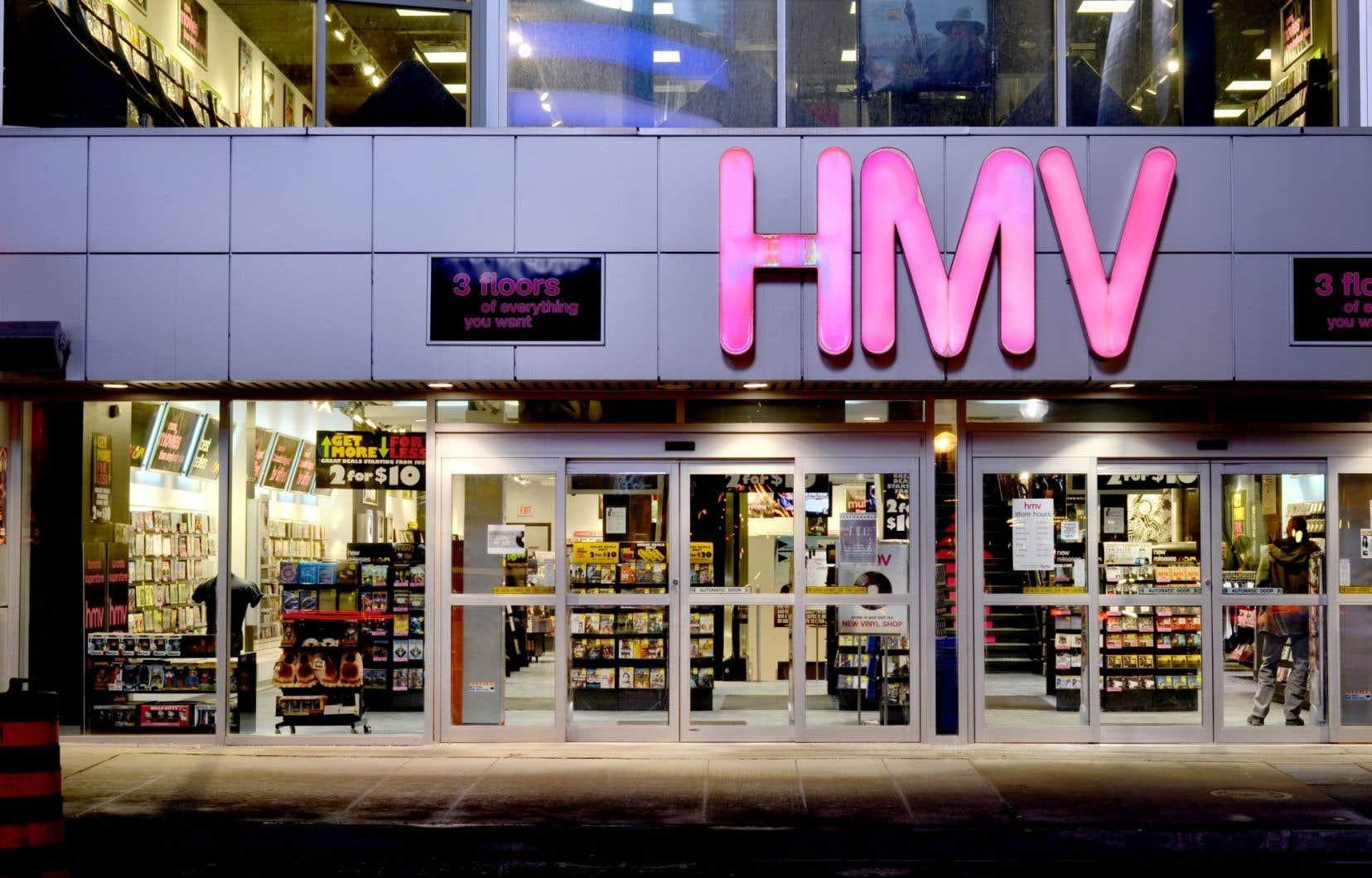 HMV nécessiterait des injections de fonds de l'ordre de 2 à 5millions annuellement simplement pour demeurer en affaires.
