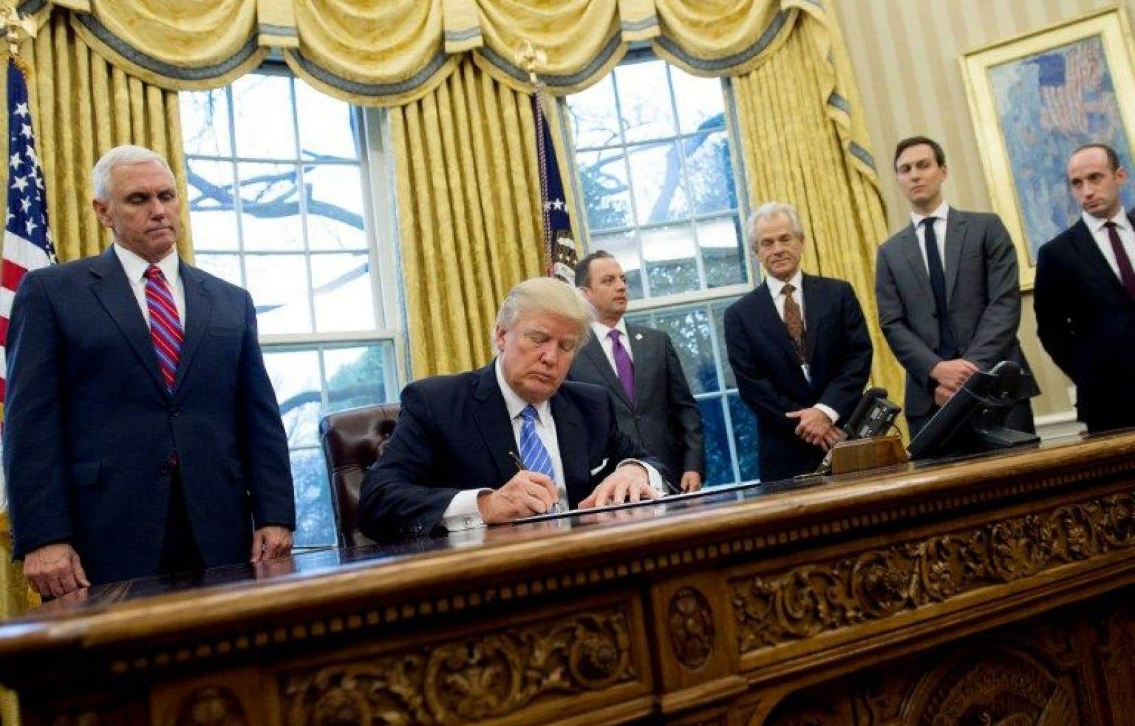 Plus tôt cette semaine, le président Trumpa pris la décision de couper le financement par les États-Unis aux organismes qui militent pour une plus grande accessibilité à l'avortement.