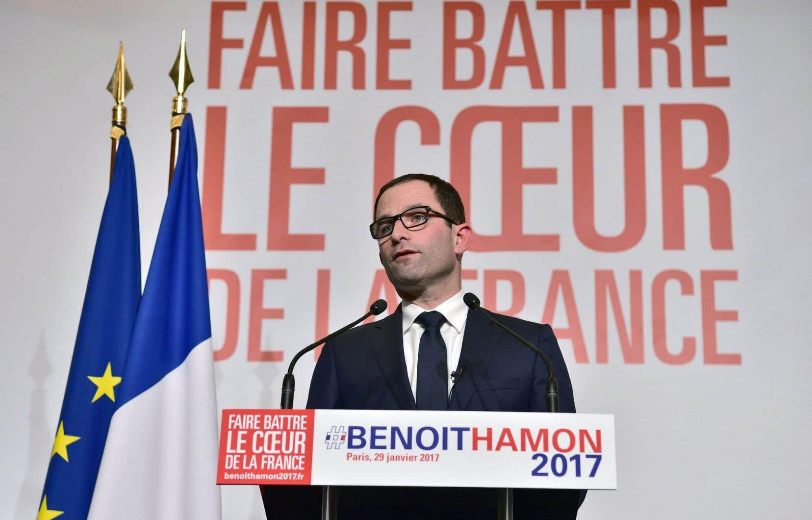 Benoît Hamon a remporté la primaire socialiste dimanche dernier.