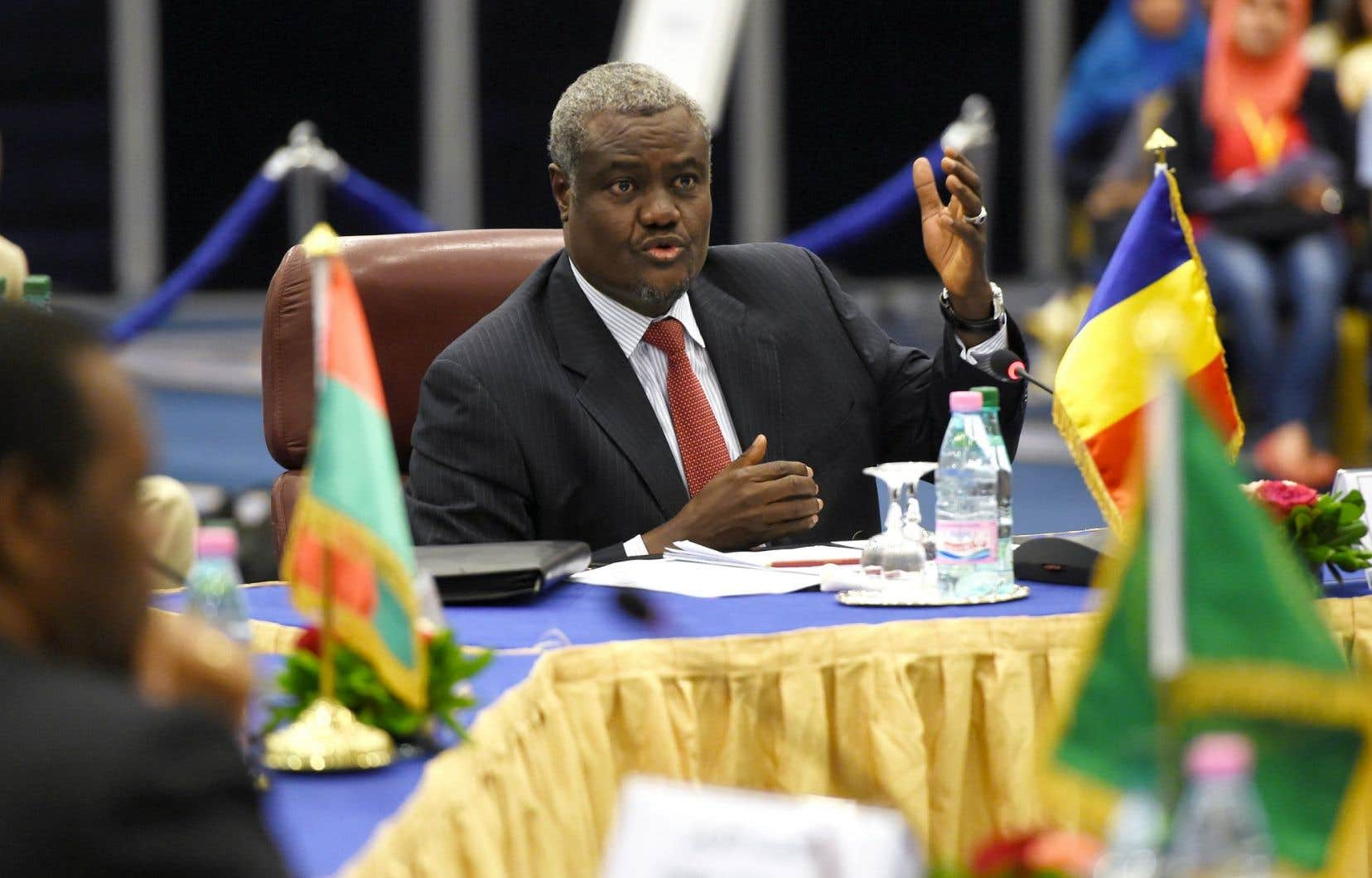 Le Tchadien Moussa Faki Mahamat a été élu lundi à la tête de la Commission de l'Union africaine.