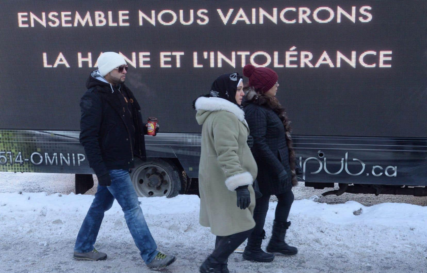 «En 2017, il est faux de prétendre qu'on peut bâtir le Québec sans les immigrants», tranche Zabi Enâyat-Zâda.