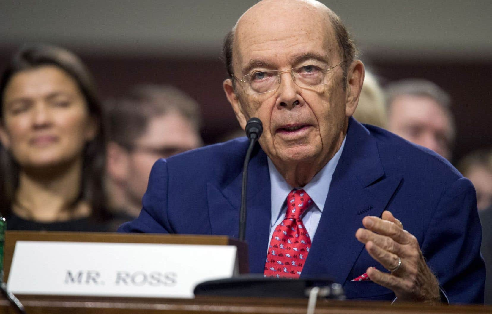 Le secrétaire au Commerce, le milliardaire Wilbur Ross, prendra part aux pourparlers sur l'ALENA.