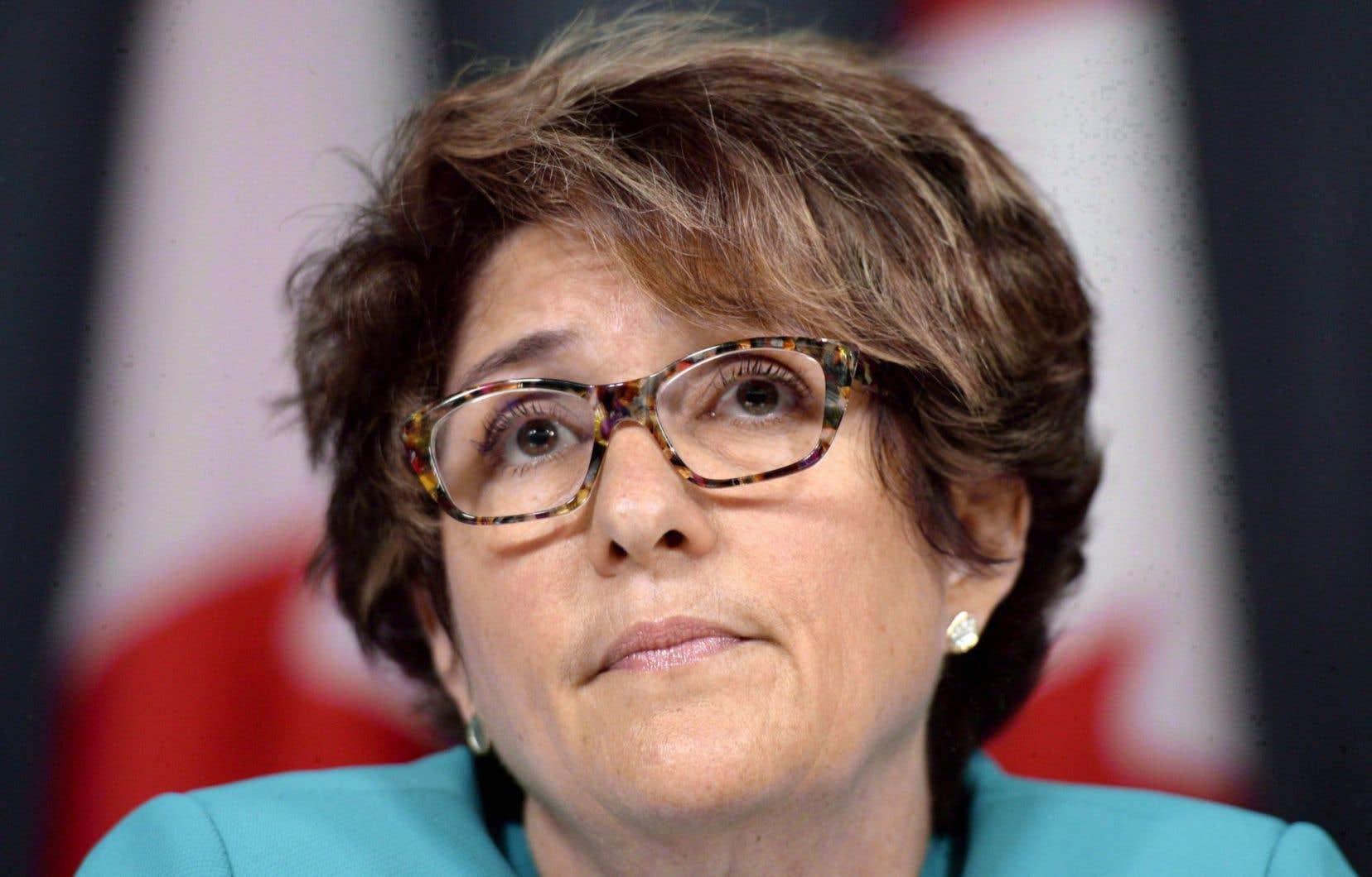 La sous-ministre des Travaux publics et des Services gouvernementaux, Marie Lemay