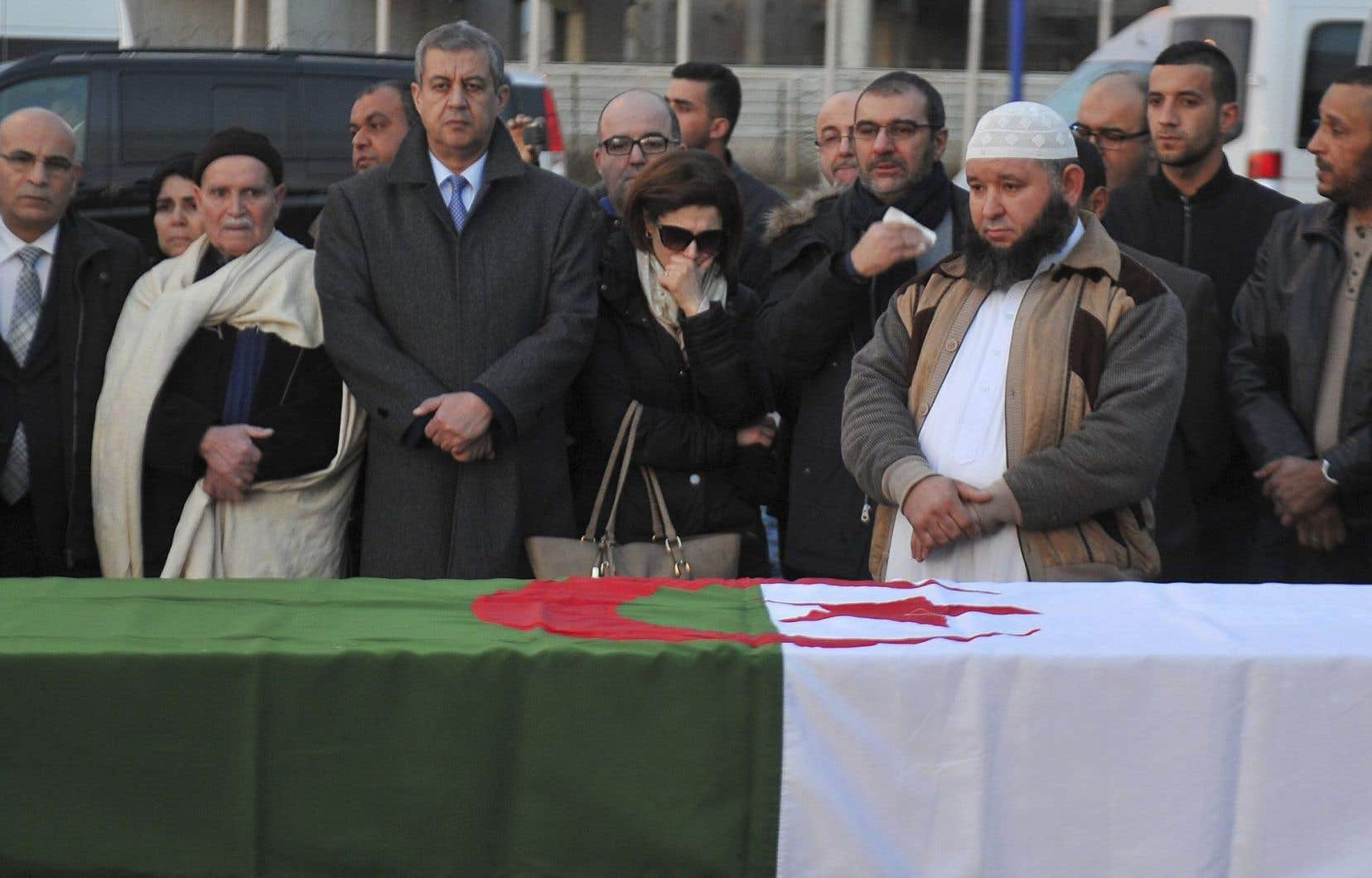 Le corps d'Abdelkrim Hassane, victime de l'attentat de Québec, a été répatrié en Algérie le 4 février.