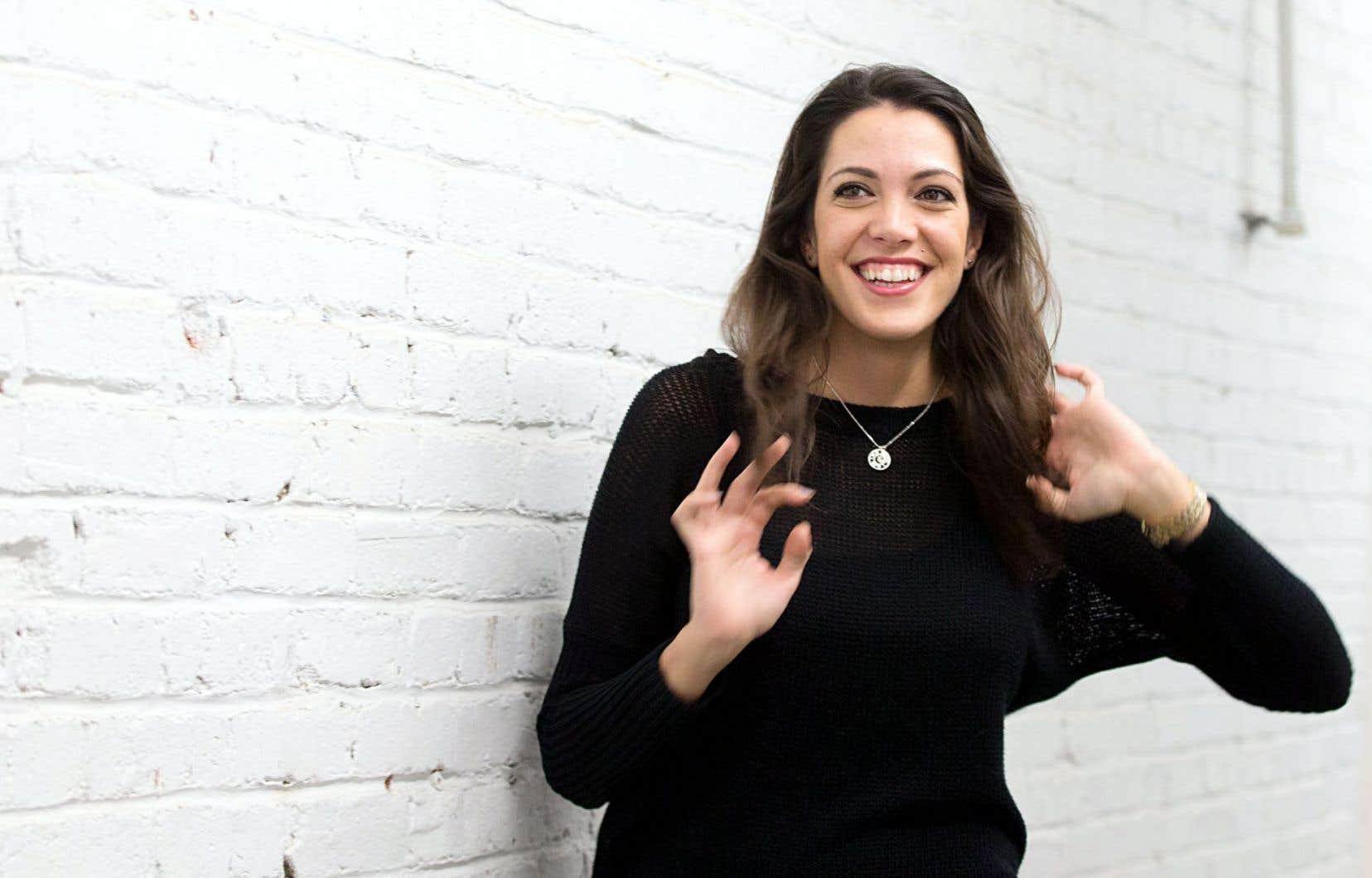 Elizabeth Stefanka est impatiente de mettre à l'épreuve le marché québécois