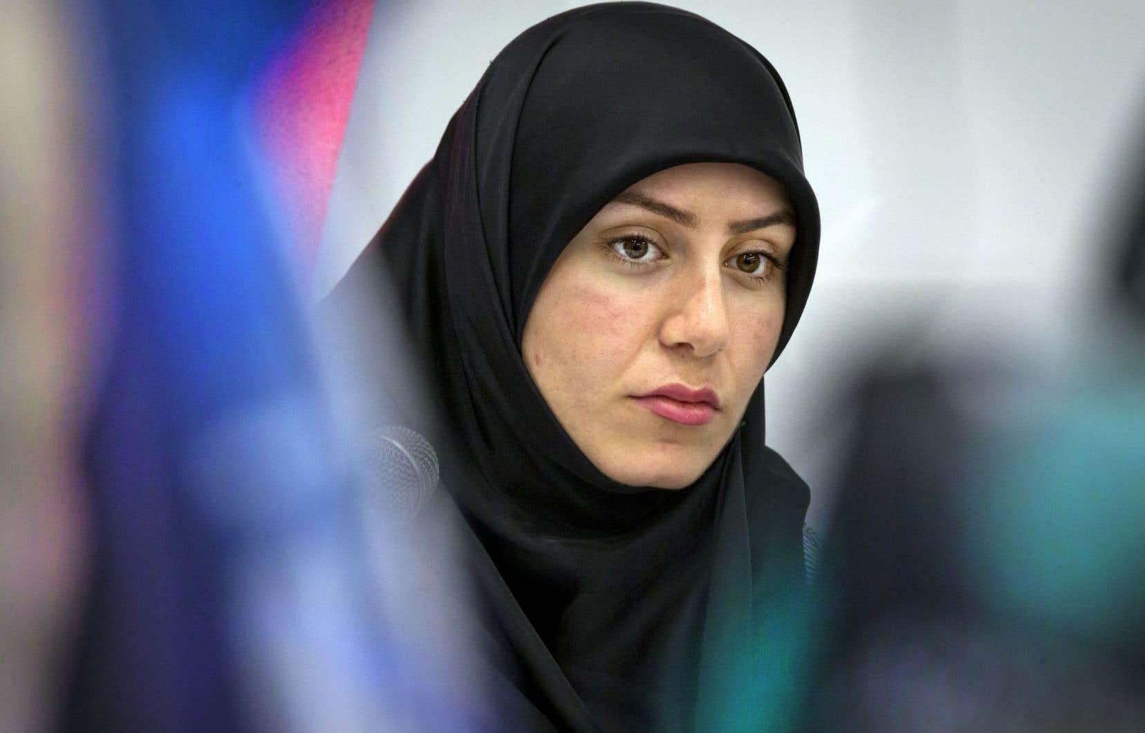 «On ne dit pas que les Québécois en tant qu'individus sont racistes», a souligné Essraa Daoui.