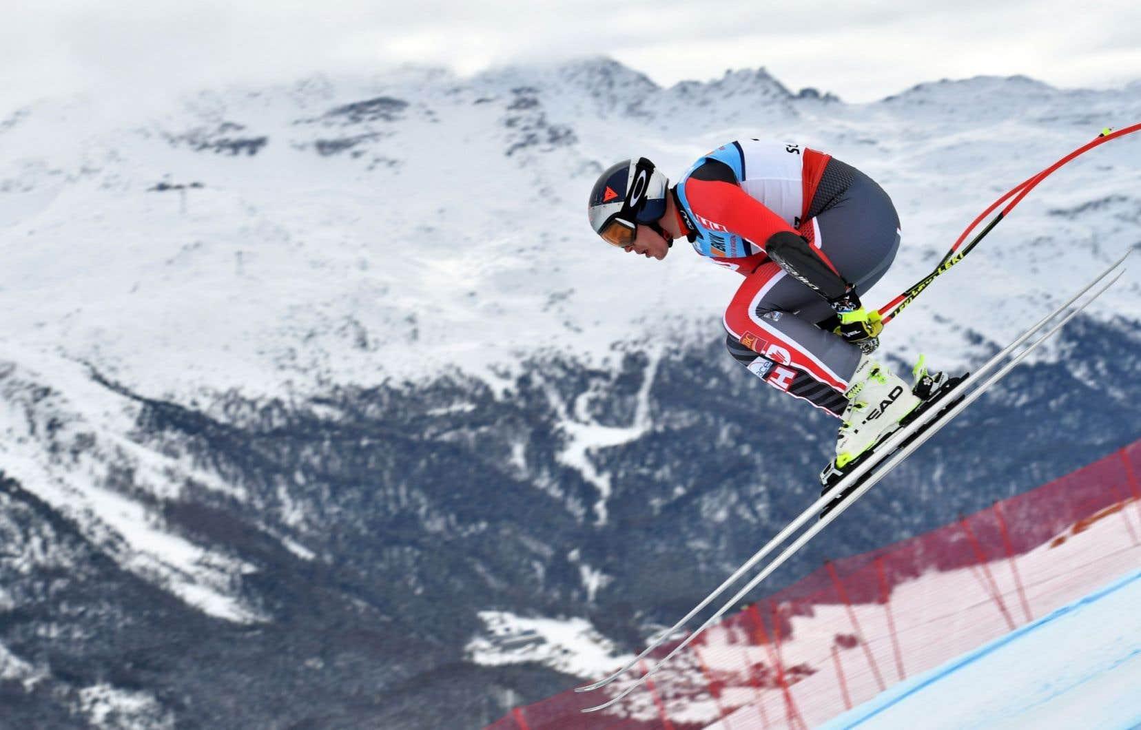 À 35ans, Erik Guay est devenu le champion du monde de ski alpin le plus âgé de l'histoire.