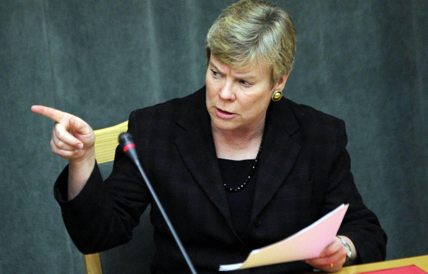 La numéro deux de l'OTAN, Rose Gottemoeller, était auparavant sous-secrétaire d'État au contrôle des armements et à la sécurité internationale des États-Unis.