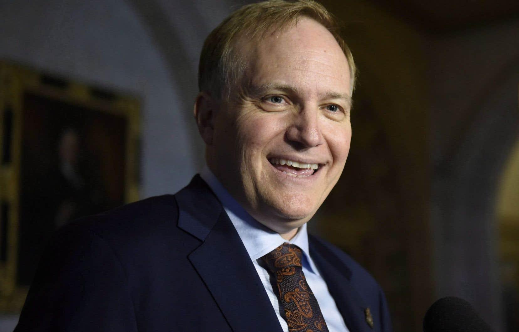 Le député originaire de la Colombie-Britannique, Peter Julian