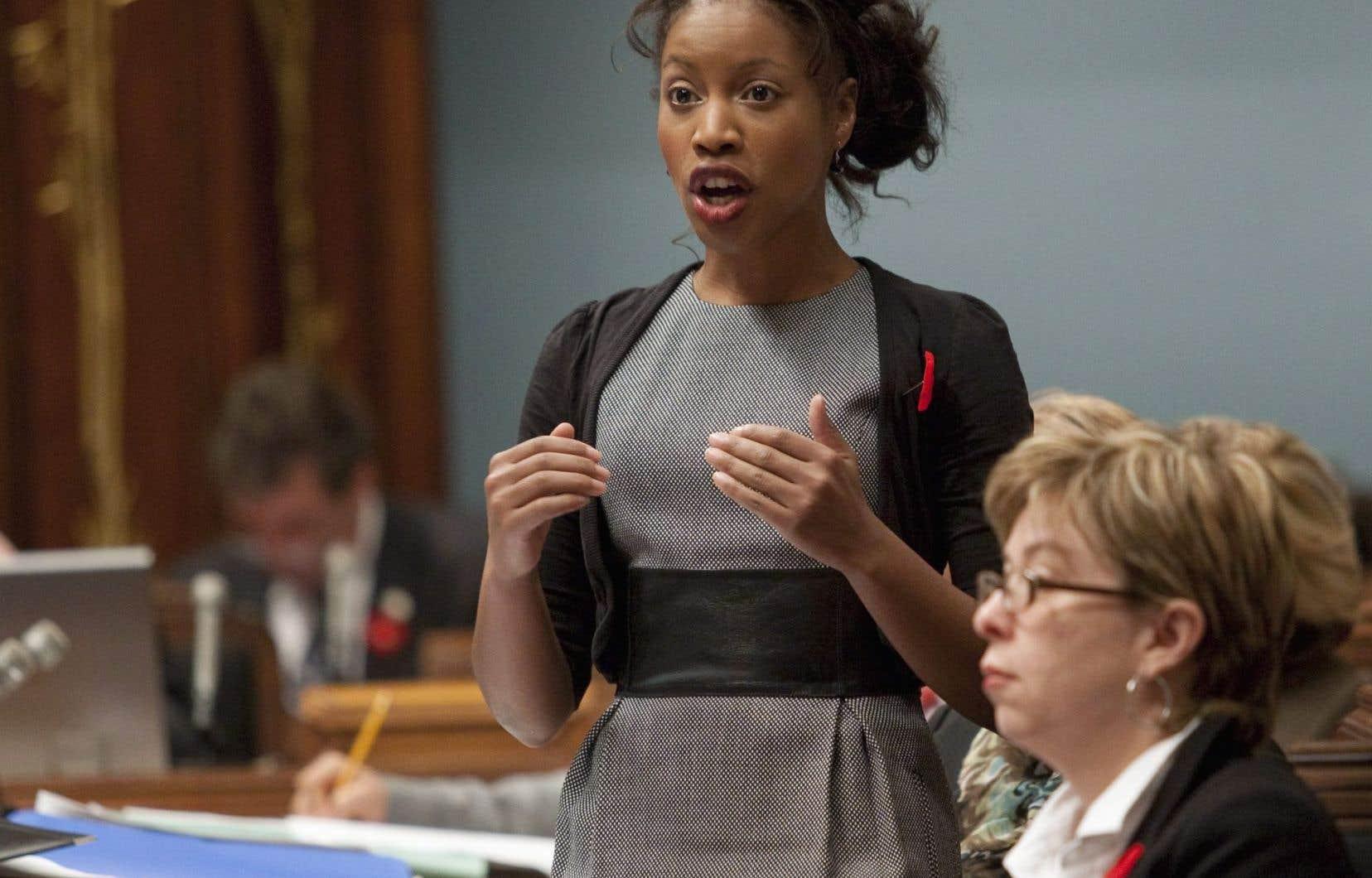 L'ancienne ministre libérale québécoise Yolande James