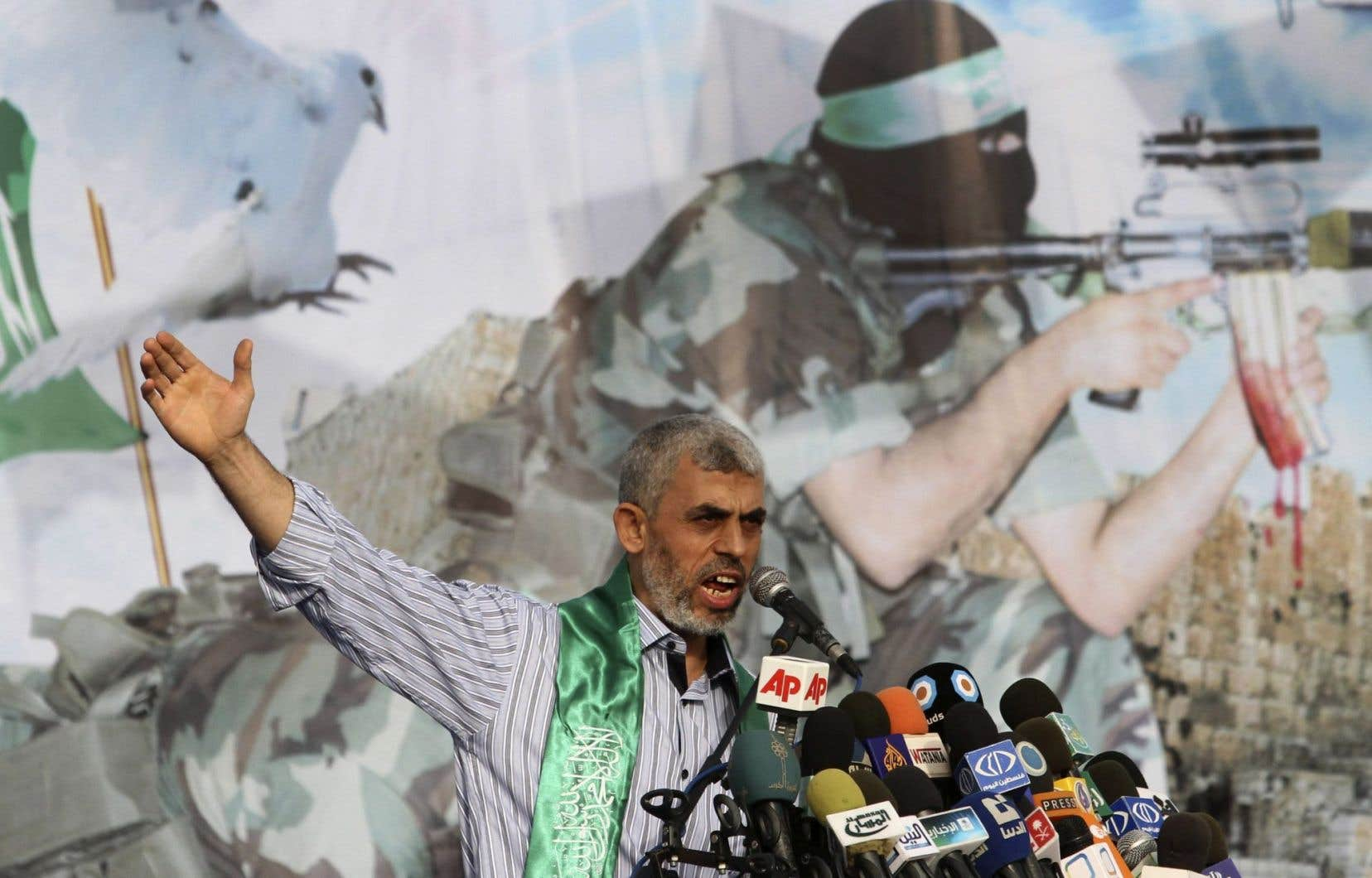 L'élection de Yahya Sinouar reflète une militarisation de la direction du Hamas, disent les experts.