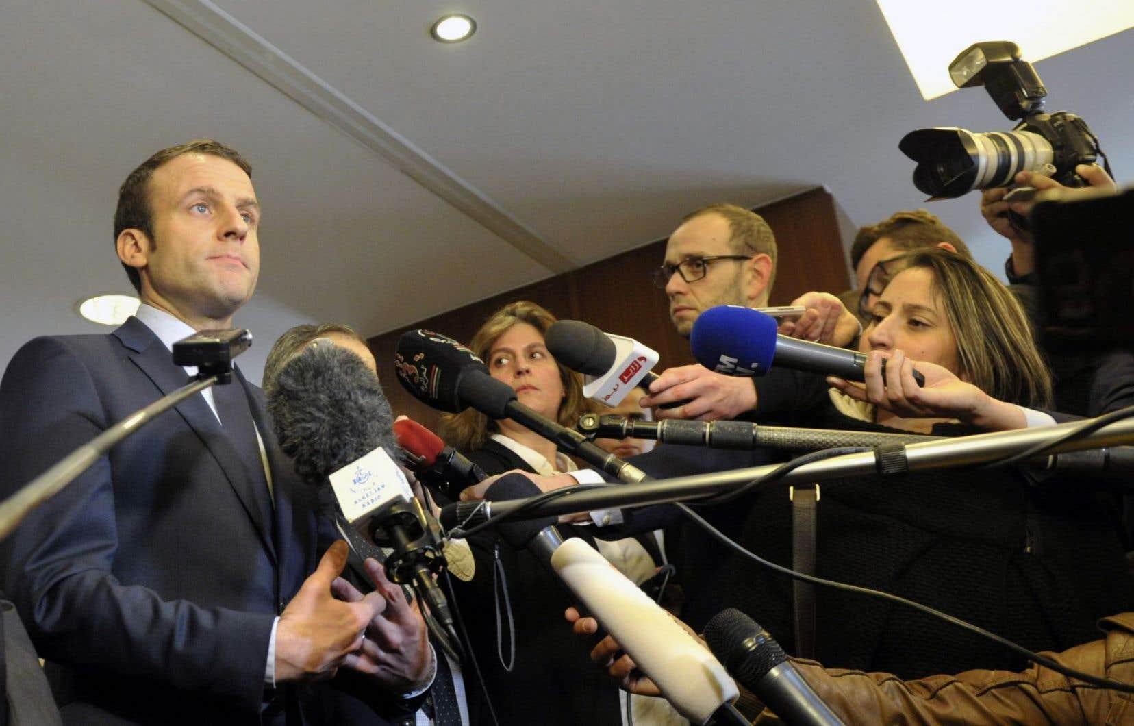 Selon les sondages, Emmanuel Macron est bien placé pour gagner la présidentielle du 7mai.