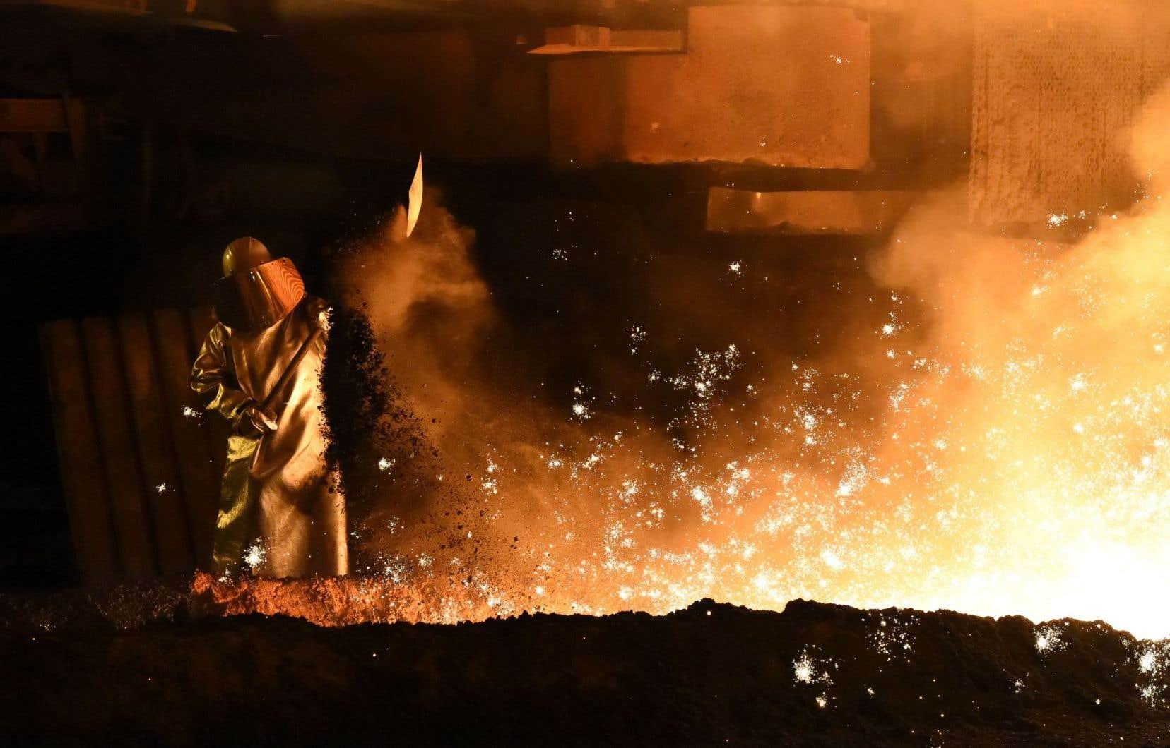 Le cours de la tonne de carbone en Europe est trop faible pour encourager les industries lourdes à émettre moins de CO2.