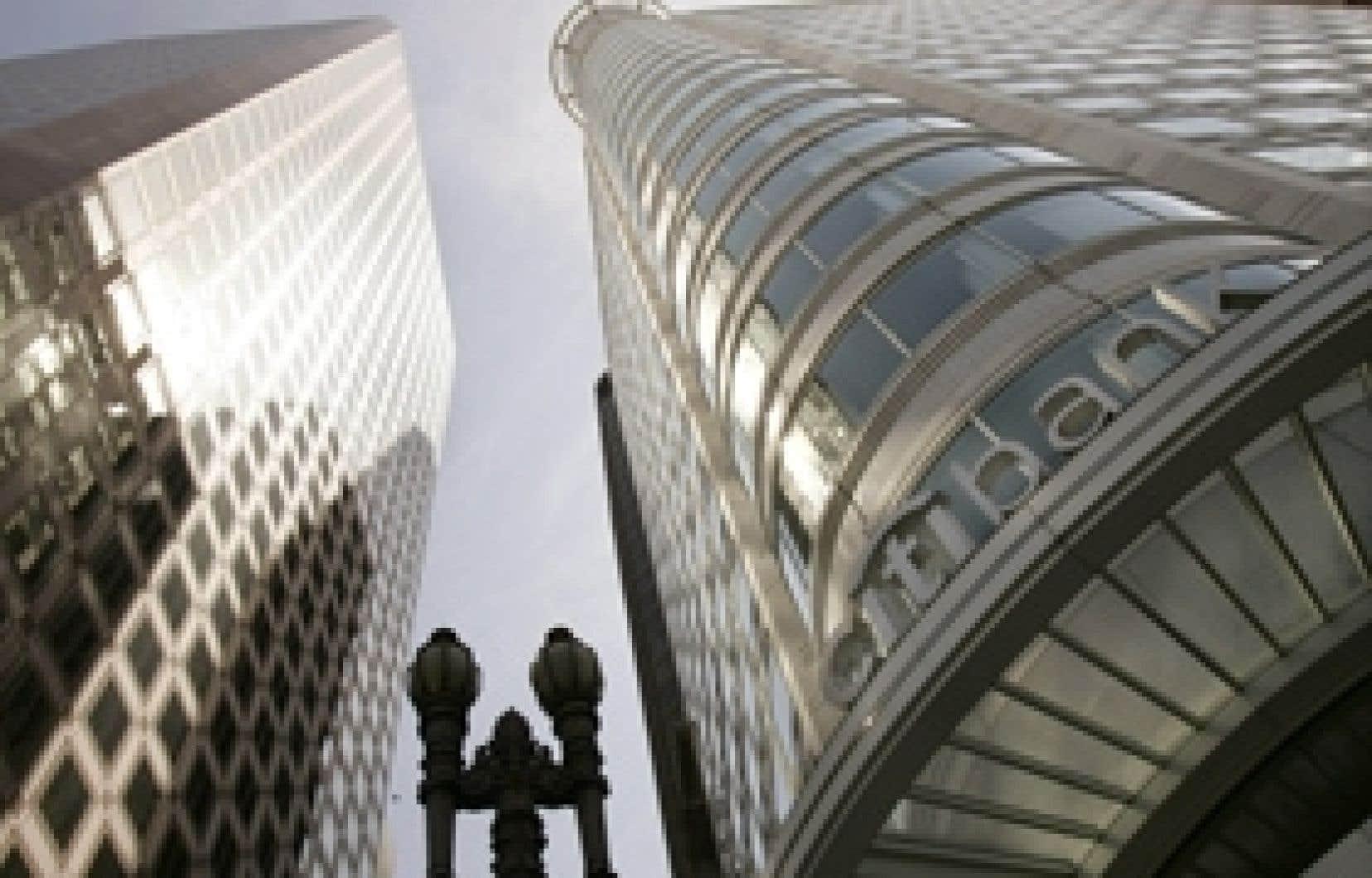 Citibank, l'un des deux plus gros bénéficiaires du plan Paulson a affirmé avoir utilisé l'aide gouvernementale pour consolider ses comptes et accorder des prêts.