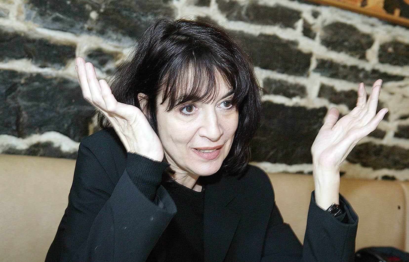 La cinéaste d'animation montréalaise Michèle Cournoyer