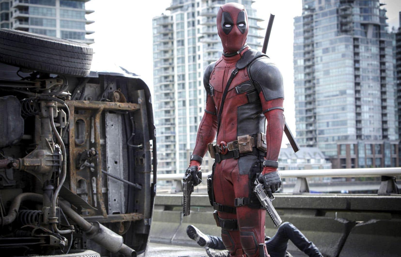Les films américains comme «Deadpool» attirent davantage les Québécois dans les salles de cinéma que les créations d'ici.