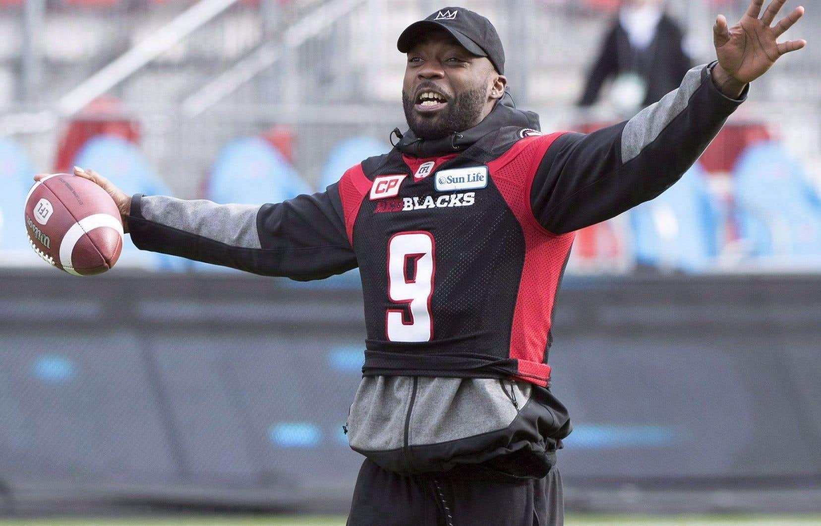 Ernest Jackson a connu une saison de rêve avec le Rouge et Noir d'Ottawa.