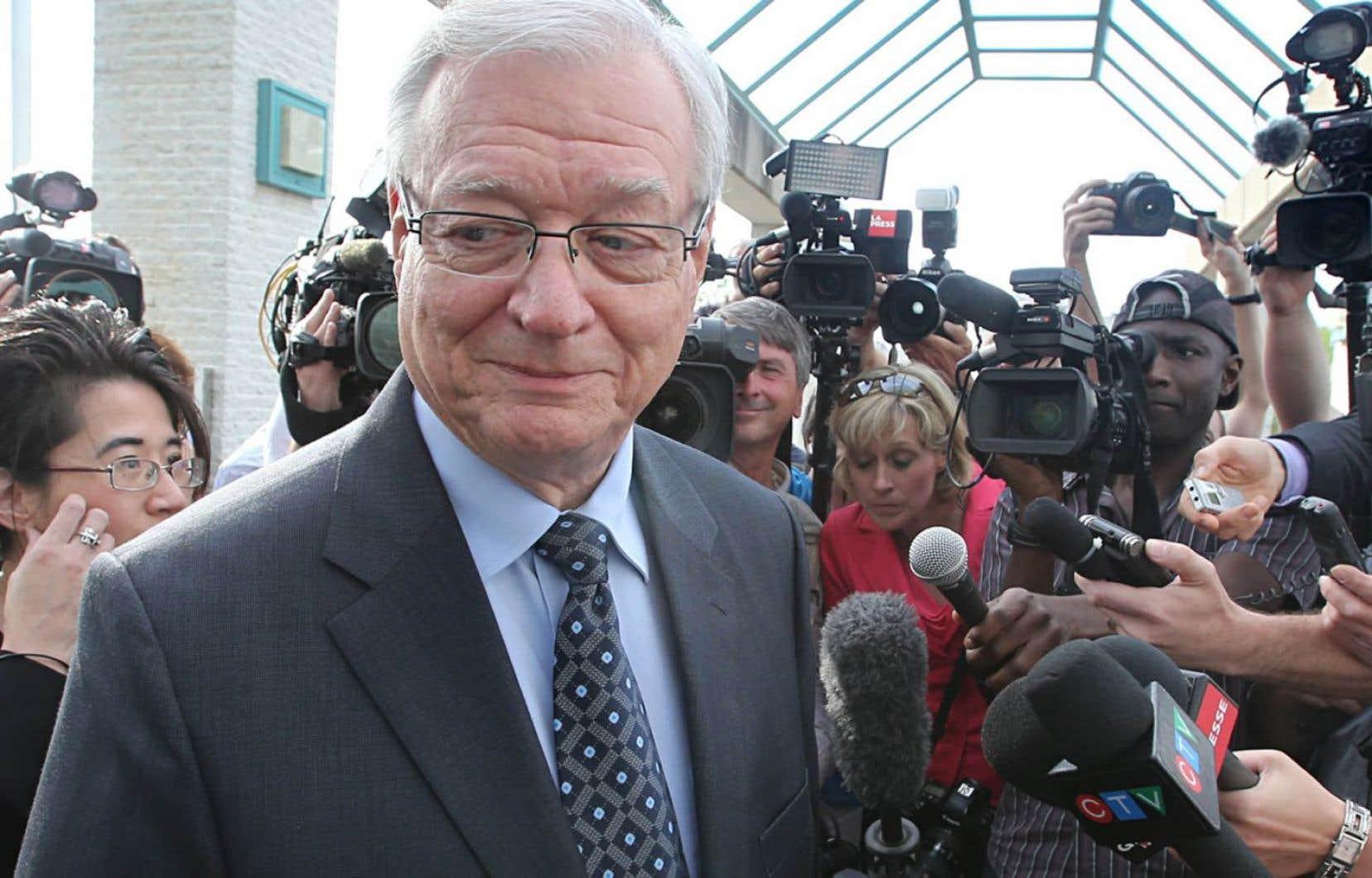 Gilles Vaillancourt a plaidé coupable à trois chefs d'accusation de fraude, complot pour fraude et d'abus de confiance en décembre.
