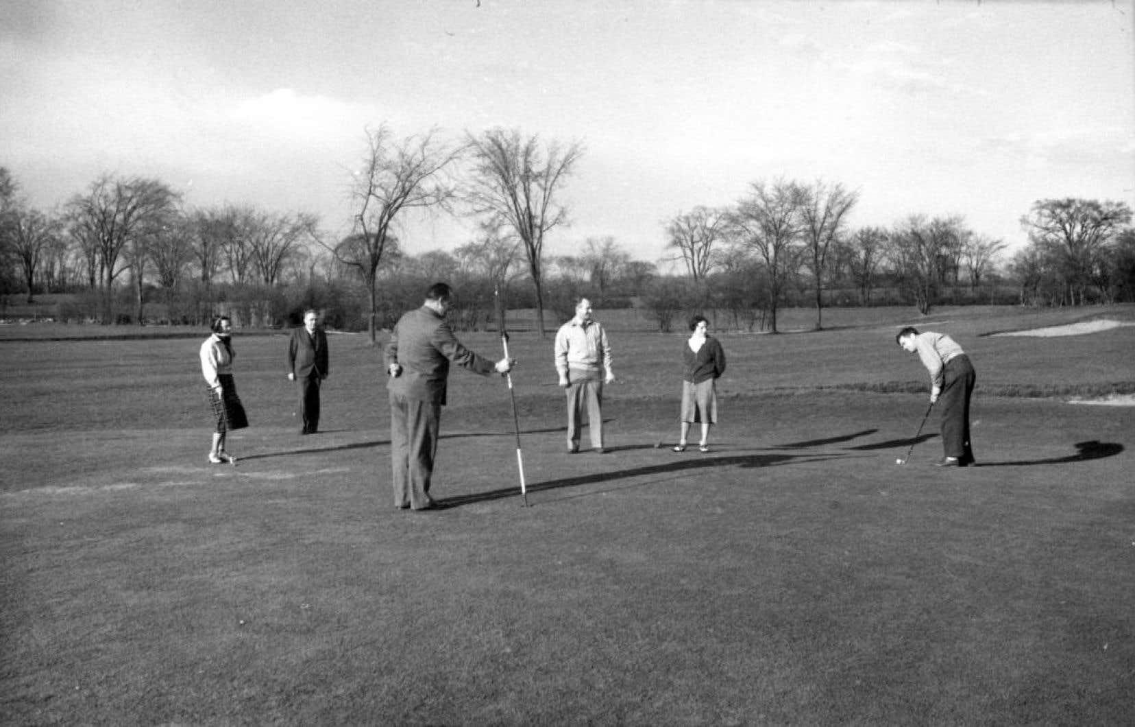 En 1873, Alexander Dennistoun créa le tout premier club de golf en Amérique.
