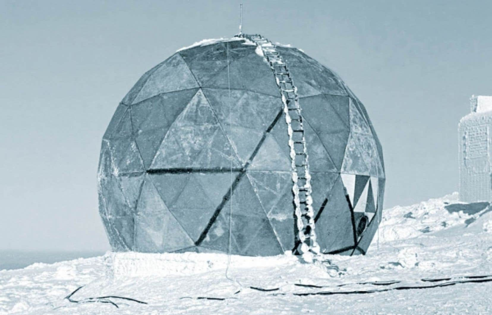 MIT Prototype for First Rigid Radome de R. Buckminster Fuller