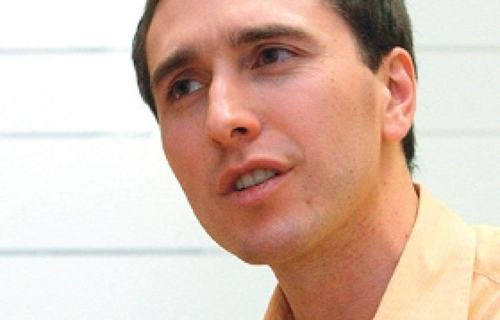 Éric Racine, directeur de l'Unité de recherche en neuroéthique à l'Institut de recherches cliniques de Montréal