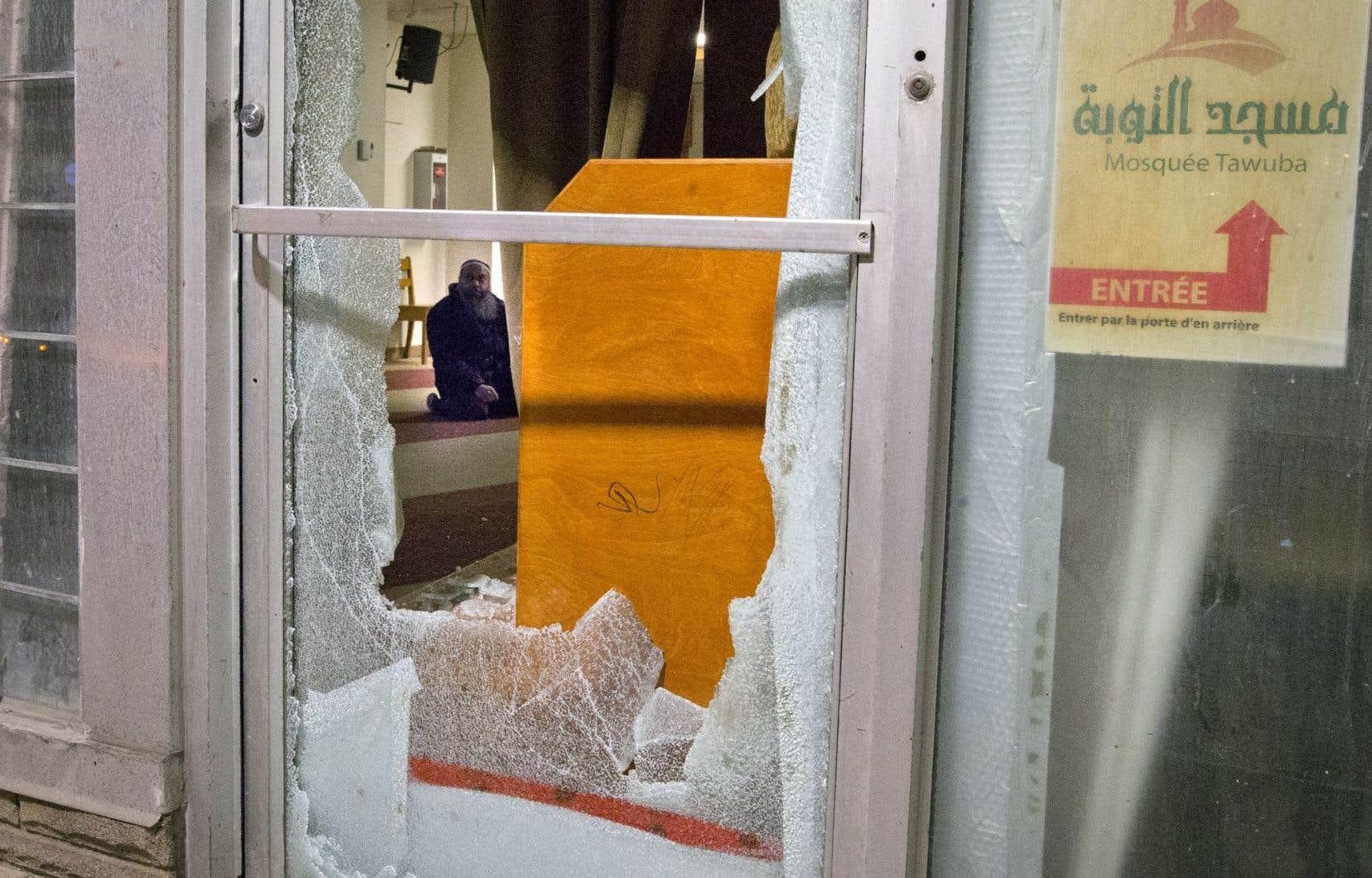Une mosquée vandalisée dans l'est de Montréal