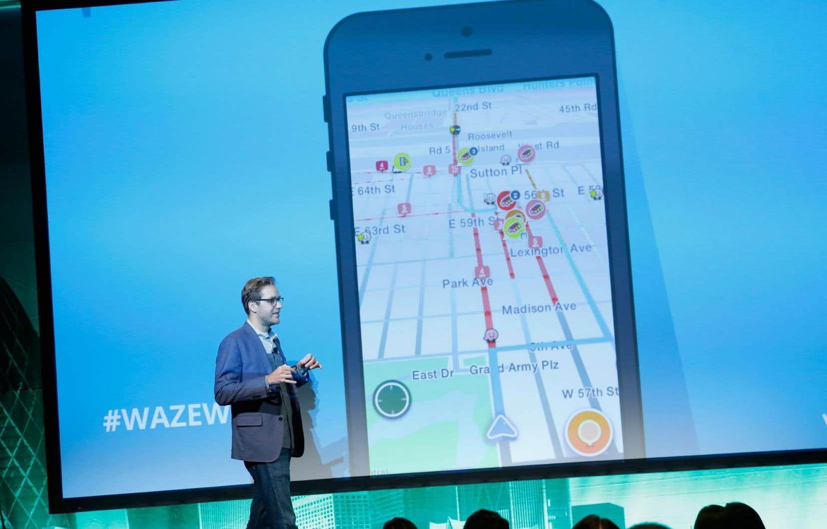<p>Si Waze devait poursuivre son expansion au nord de la frontière américaine, il ferait face au Québec à Netlift,une entreprise qui offre le même genre de service.</p>