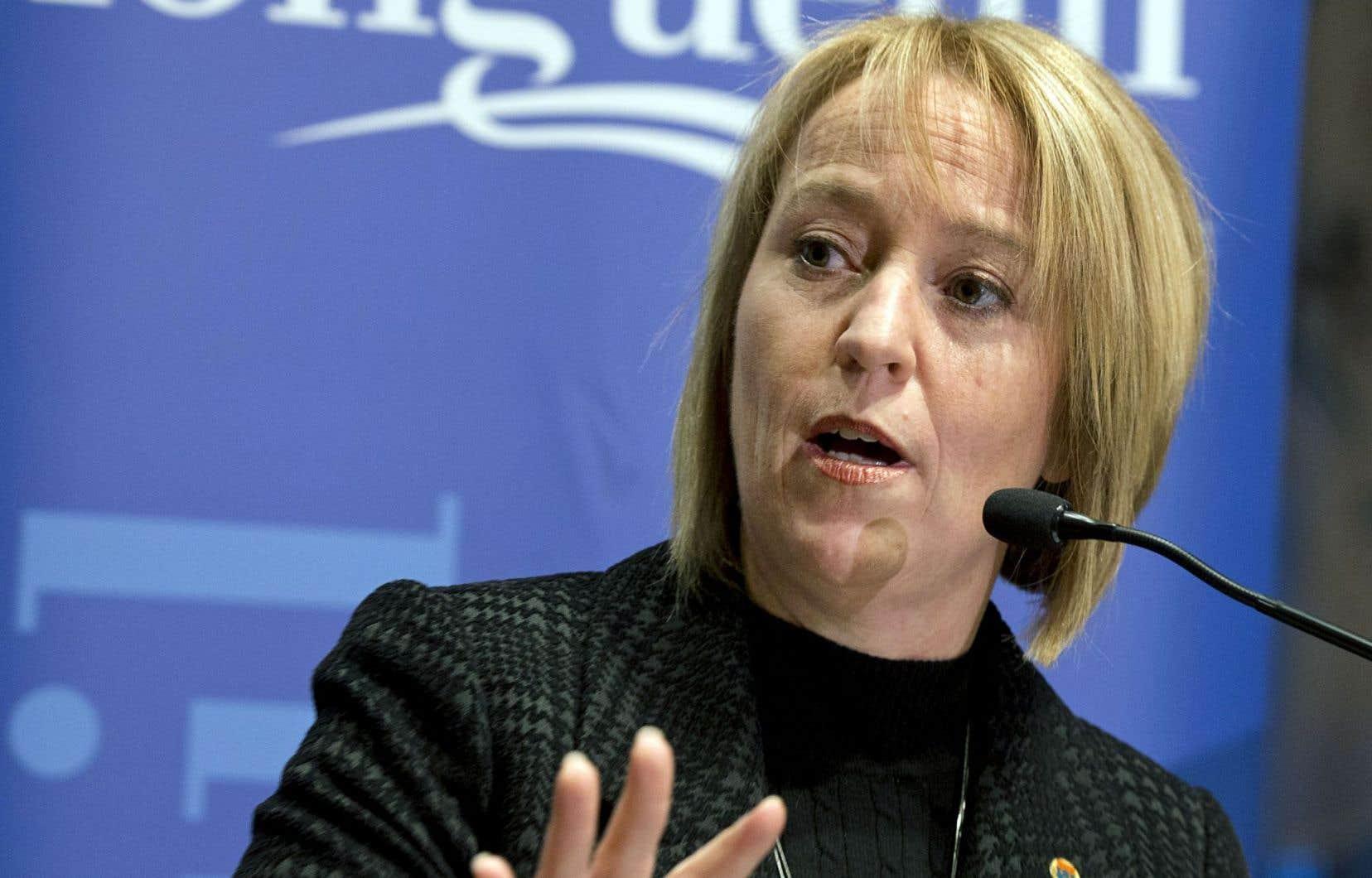 Mairesse de Longueuil depuis 2009, Caroline St-Hilaire s'est dite satisfaite d'avoir pu remettre de l'ordre dans les finances publiques de la Ville et de l'agglomération.
