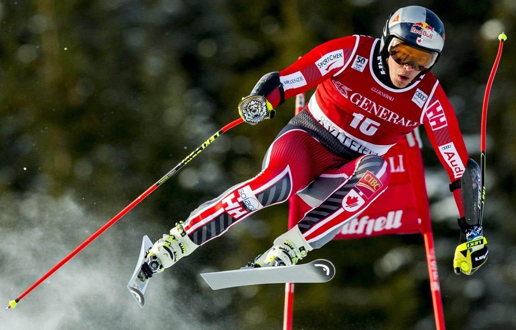 Le skieur québécois Érik Guay
