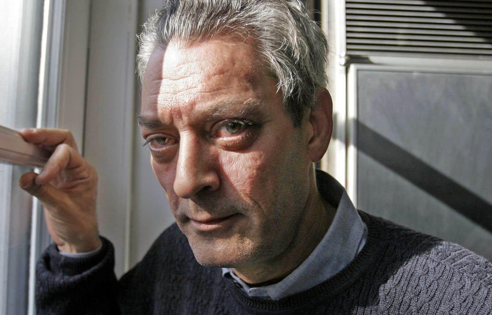 L'écrivain américain Paul Auster sera à Montréal mardi.