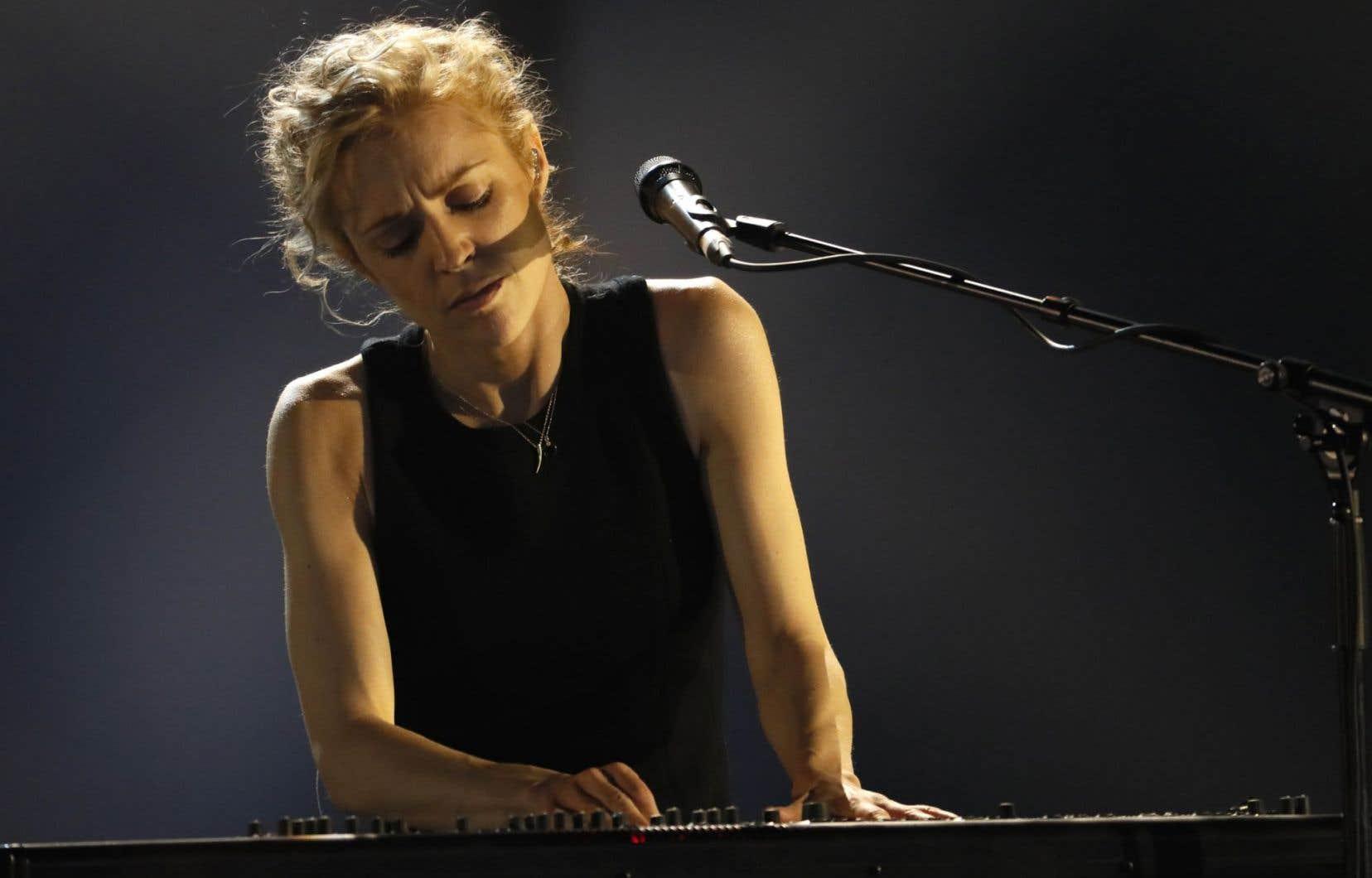 Agnes Obel en prestation à Paris le 10 février dernier