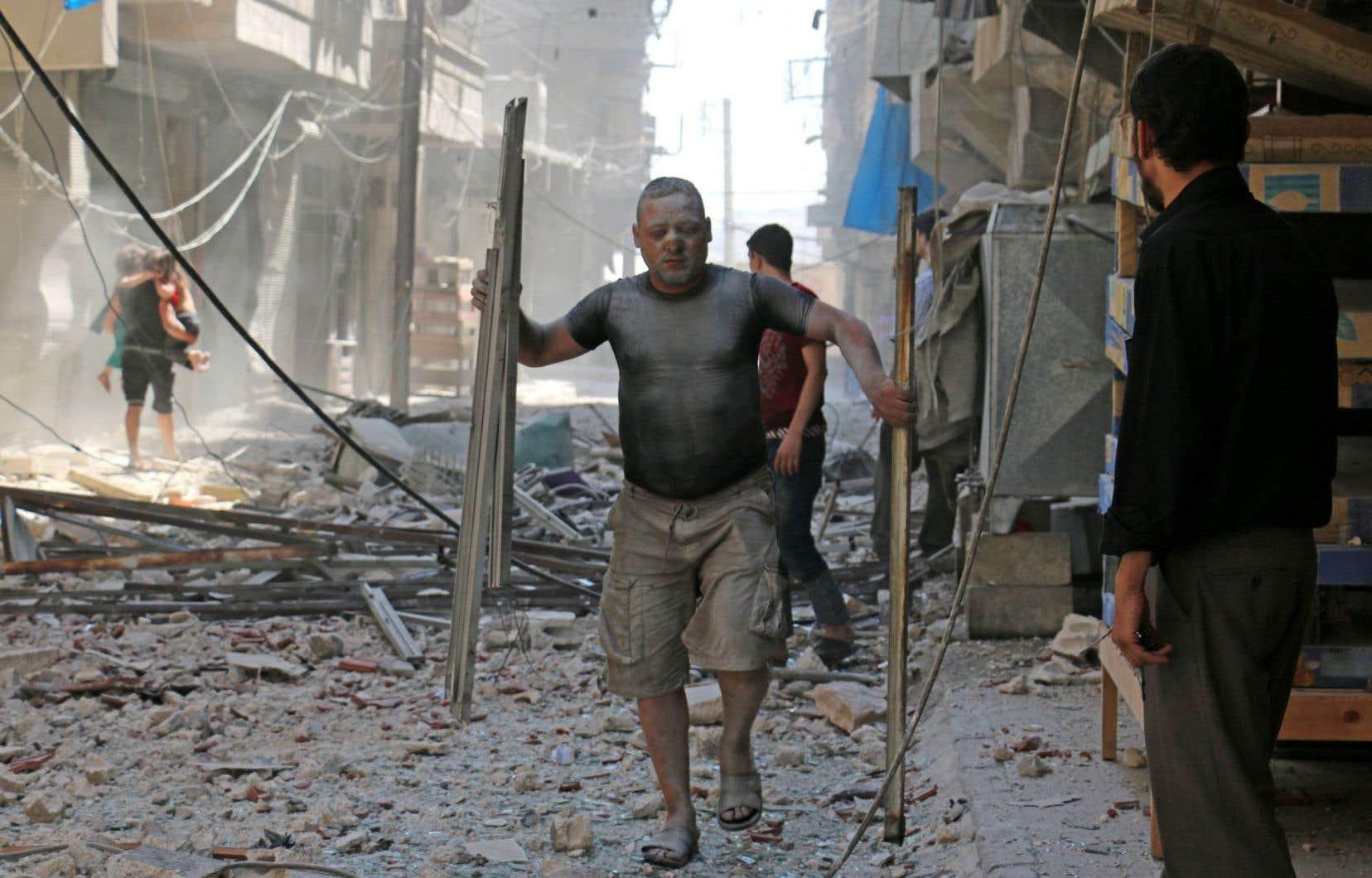 Les civils ont payé le plus lourd tribut de cette bataille, accuse le rapport.