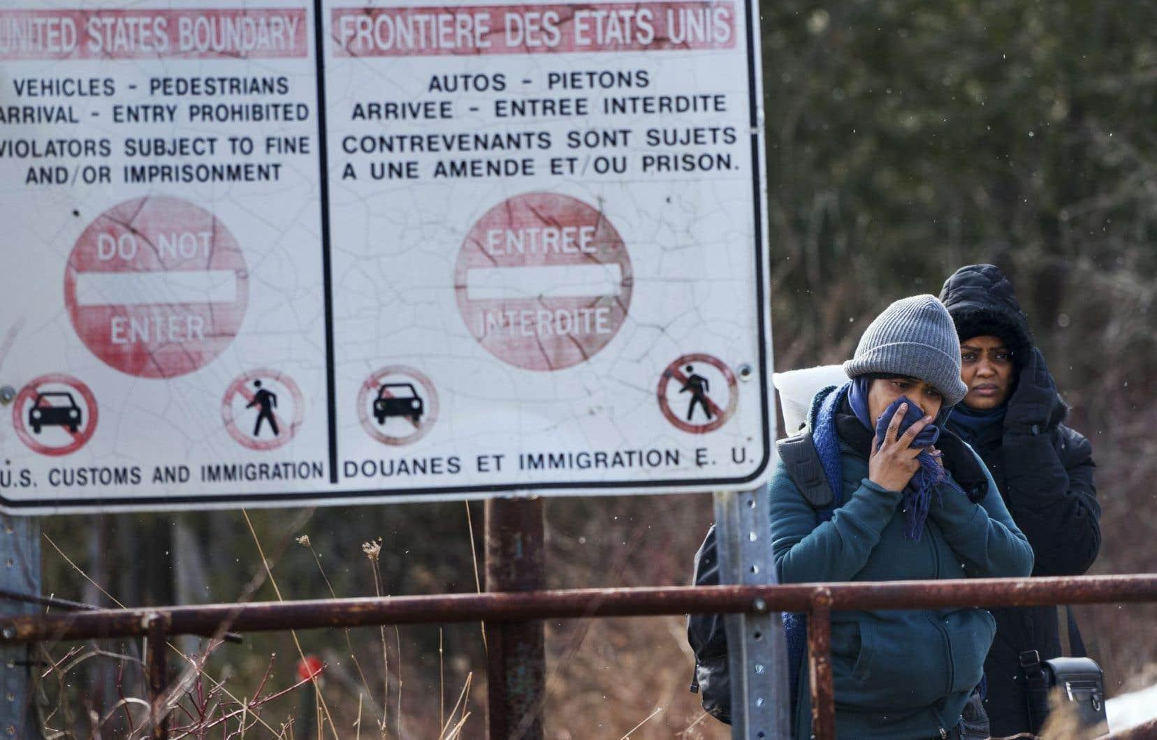 75% des 1010 répondants réclament que la surveillance aux frontières soit raffermie afin d'empêcher l'arrivée d'immigrants illégaux.